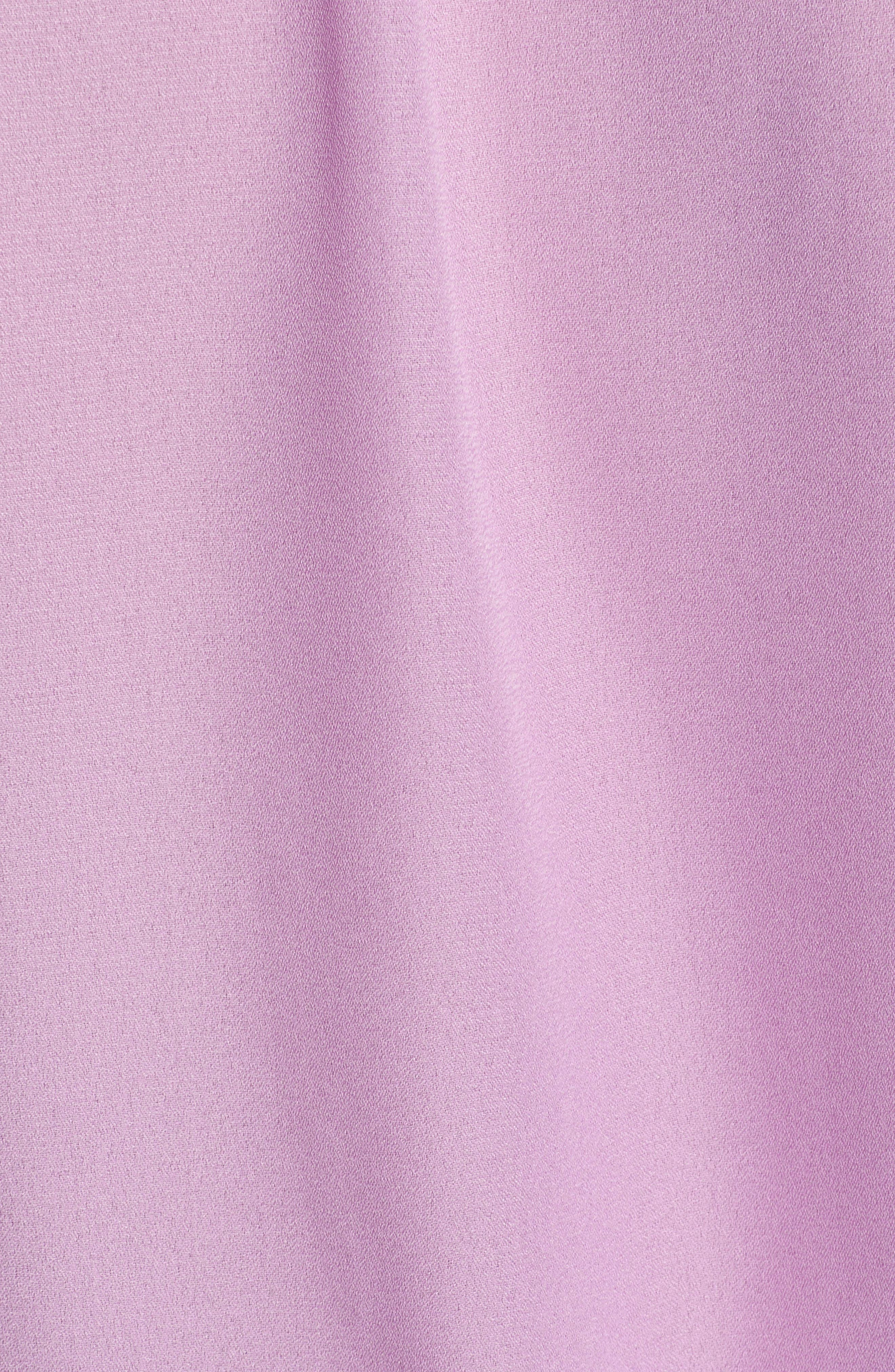 GIBSON,                             x International Women's Day Roselyn Ruffle Detail Smock Waist Blouse,                             Alternate thumbnail 5, color,                             LAVENDER LILY