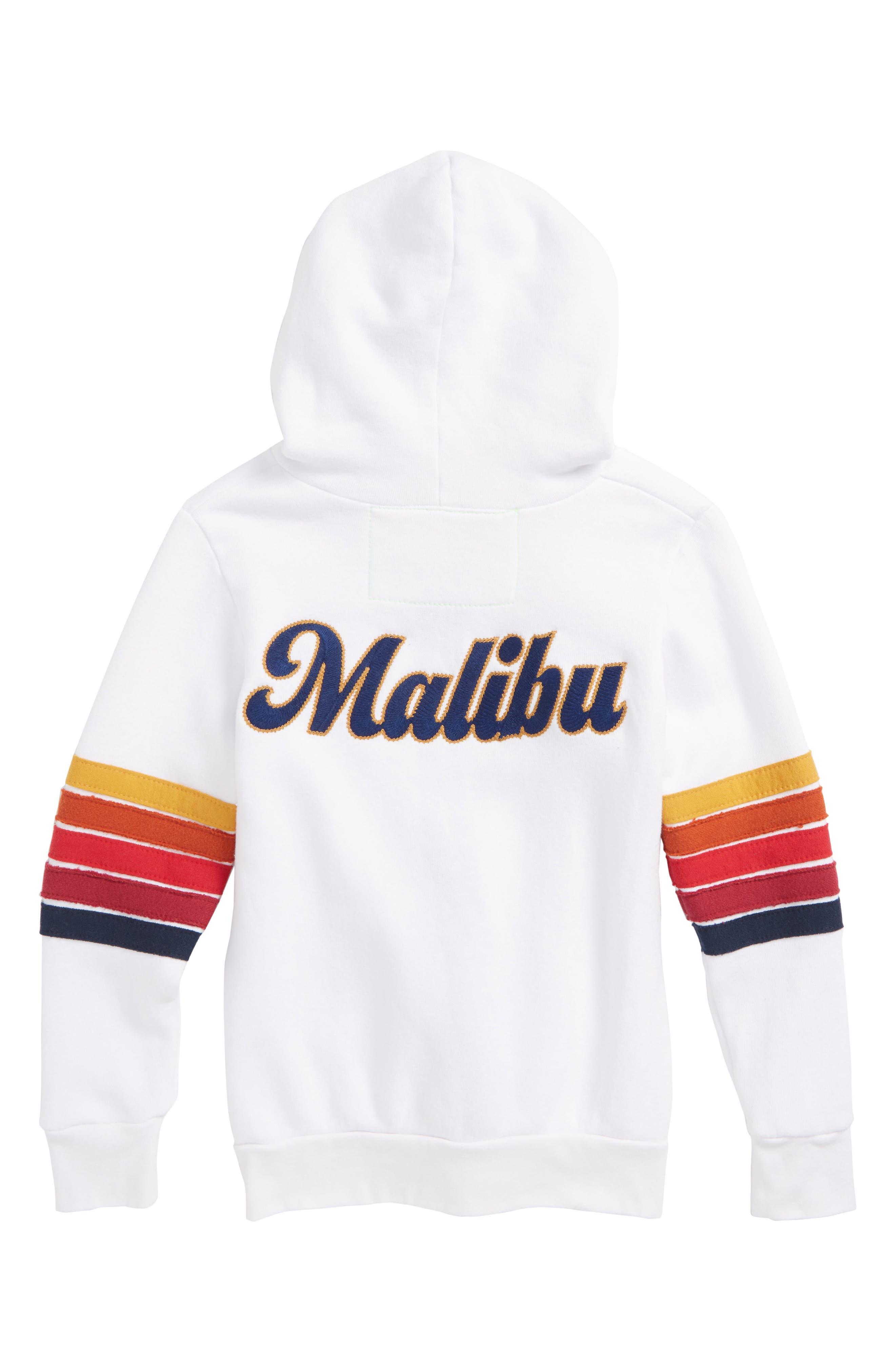 AVIATOR NATION,                             Malibu Zip Hoodie,                             Alternate thumbnail 2, color,                             110