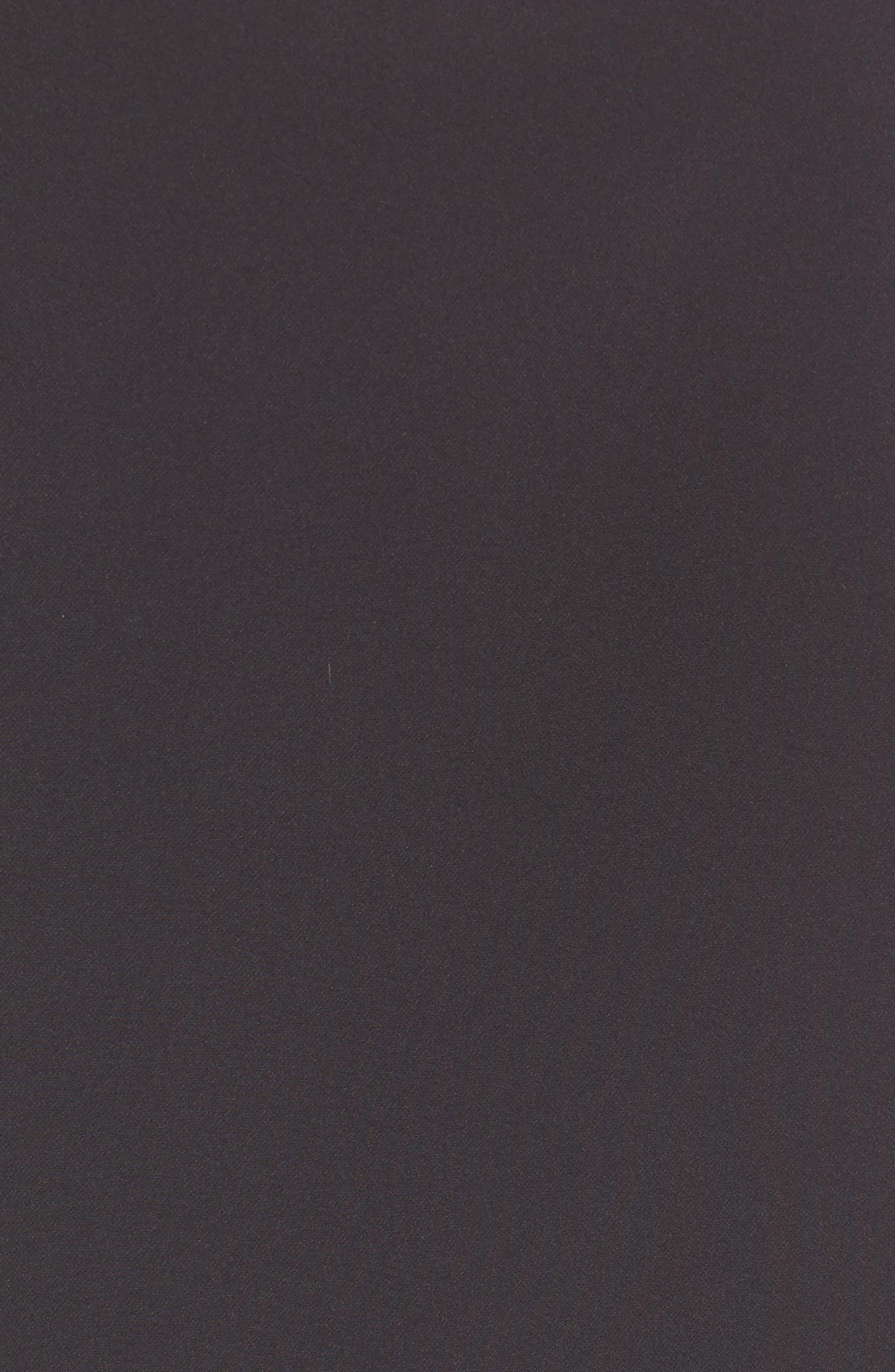 Ava Cold Shoulder Top,                             Alternate thumbnail 5, color,                             001