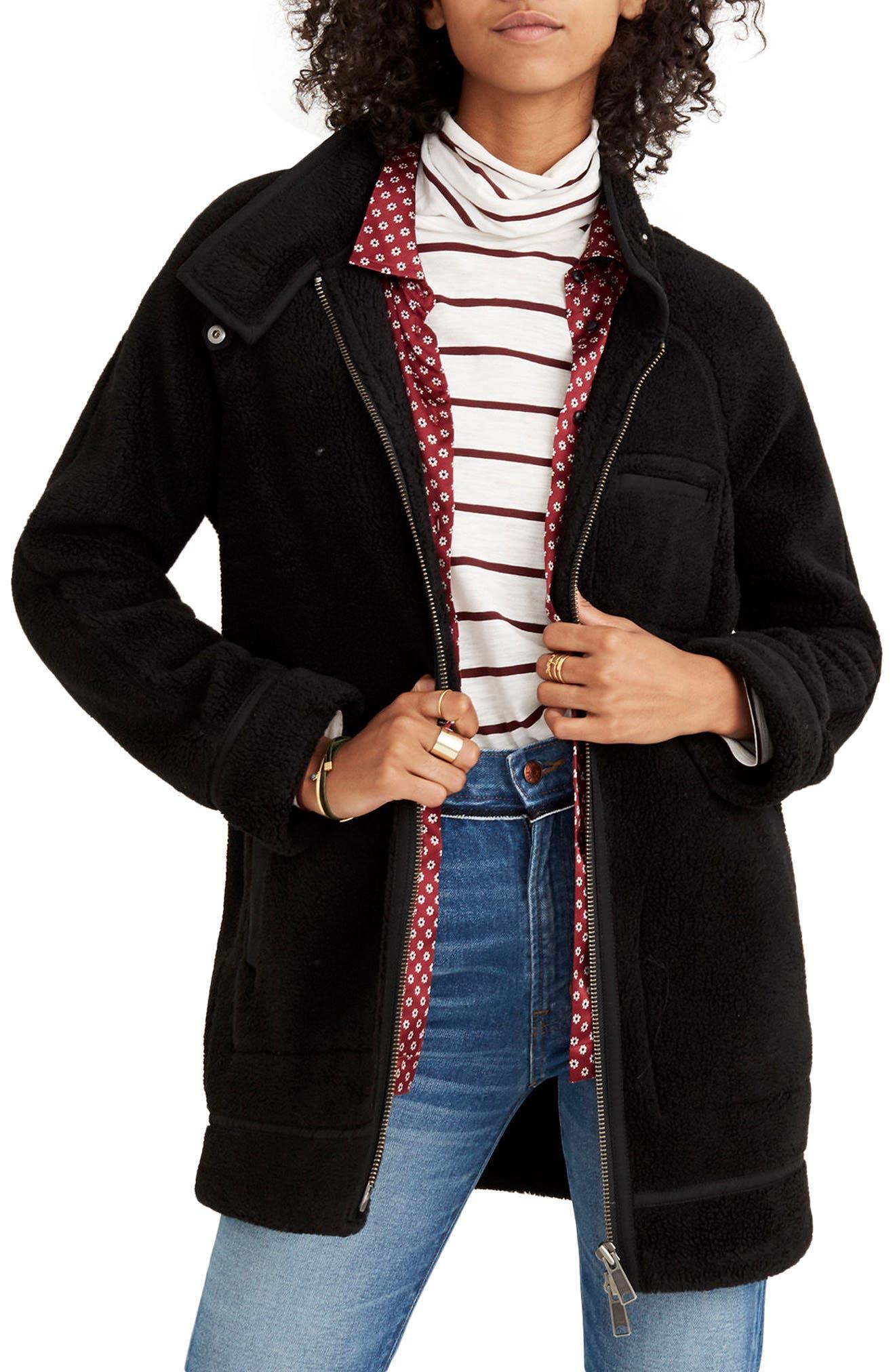 Cocoon Coat,                         Main,                         color, 001