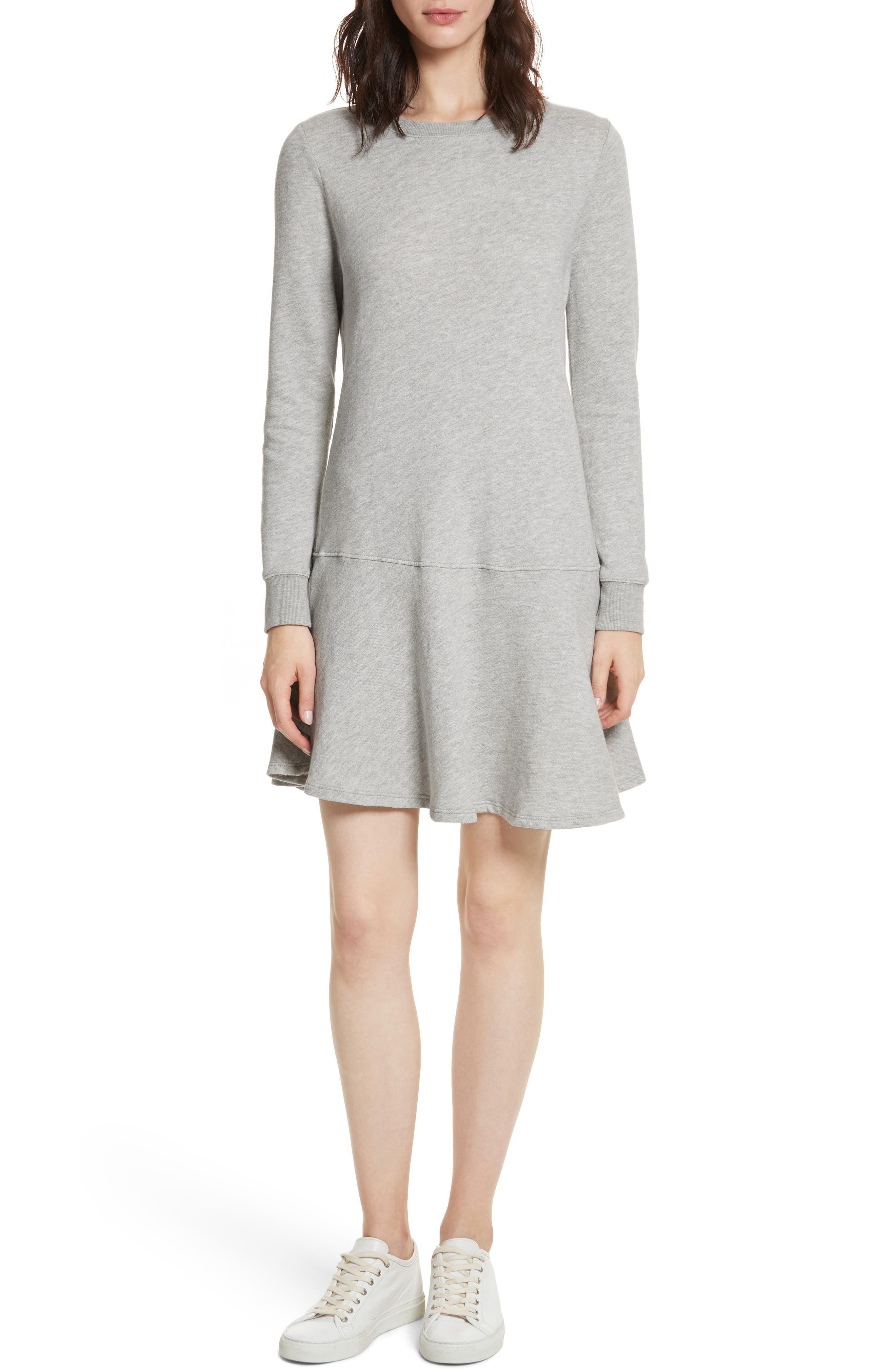 Runna French Terry A-Line Dress,                         Main,                         color, 033
