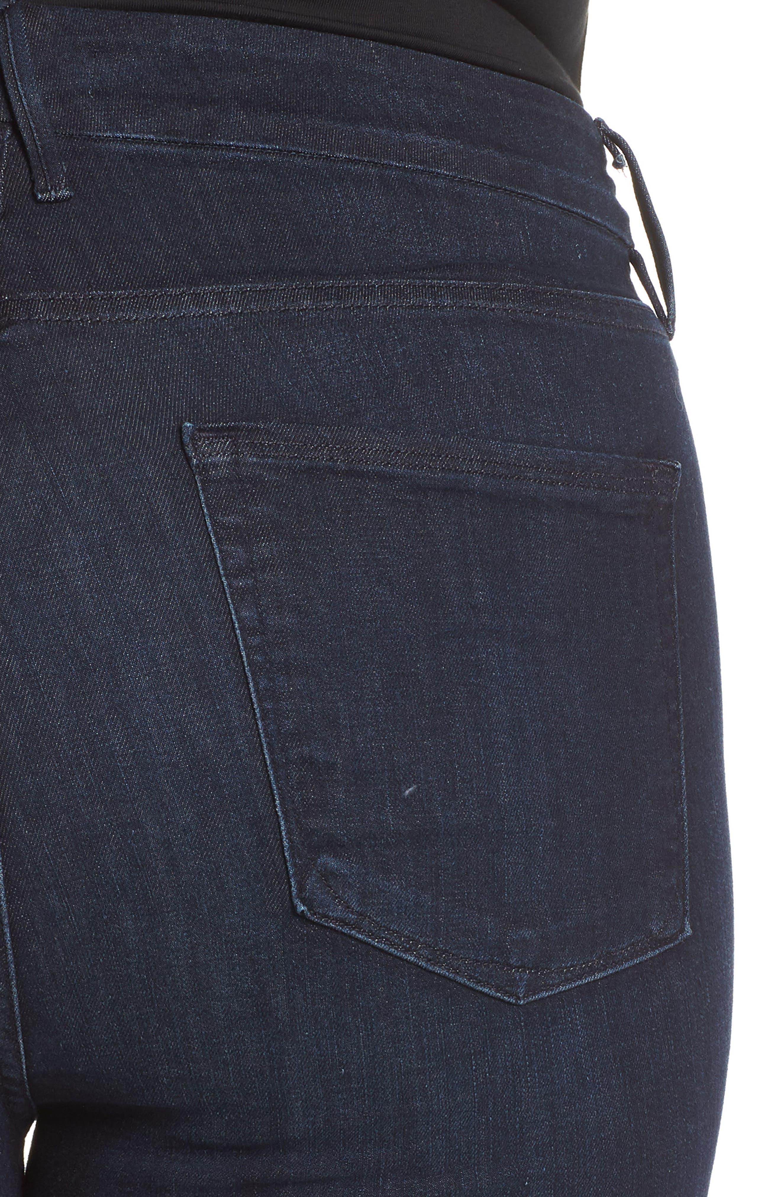 GOOD AMERICAN,                             Good Legs High Waist Skinny Jeans,                             Alternate thumbnail 11, color,                             BLUE224