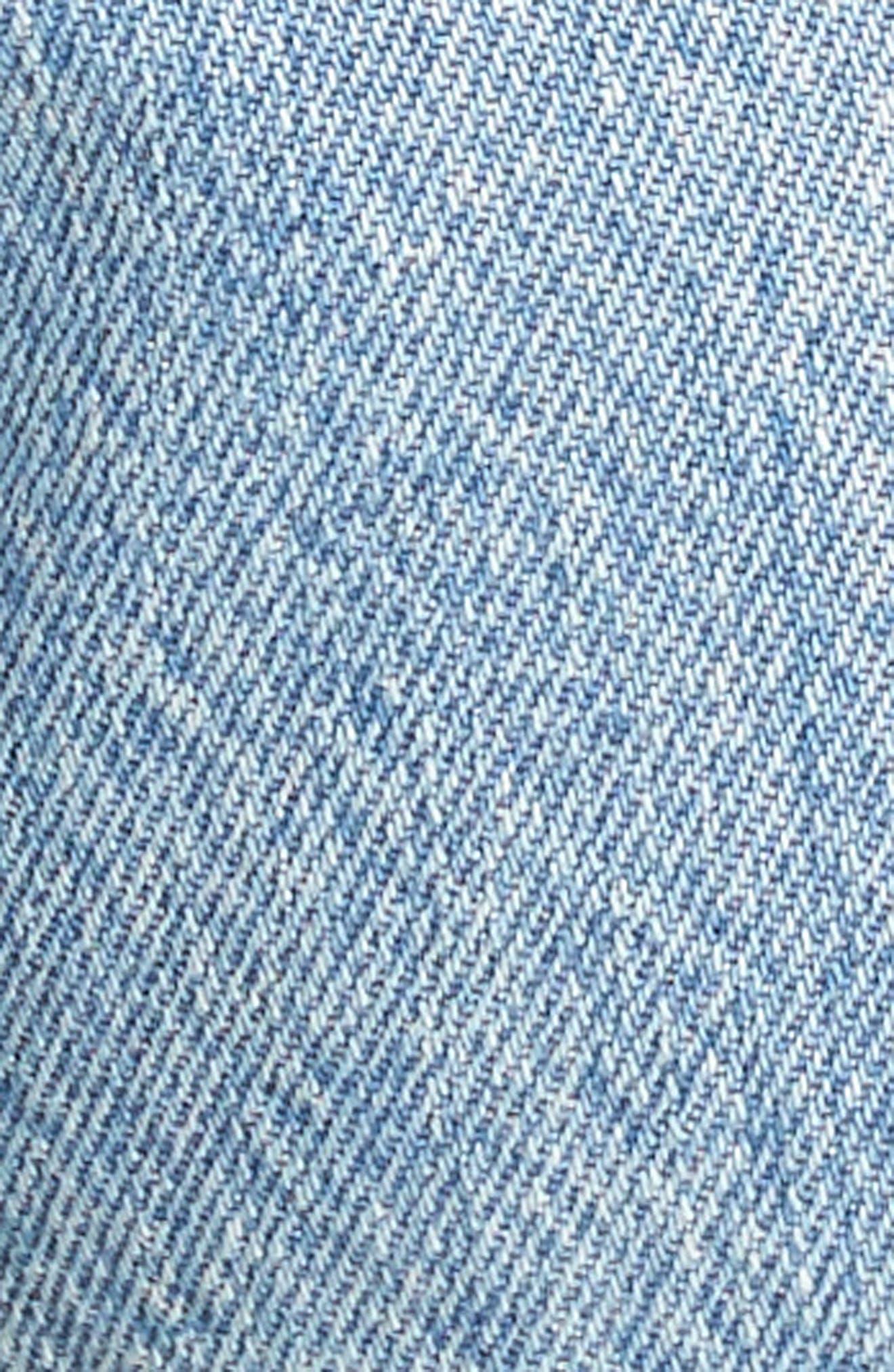 501<sup>®</sup> Distressed Cutoff Denim Shorts,                             Alternate thumbnail 5, color,                             420