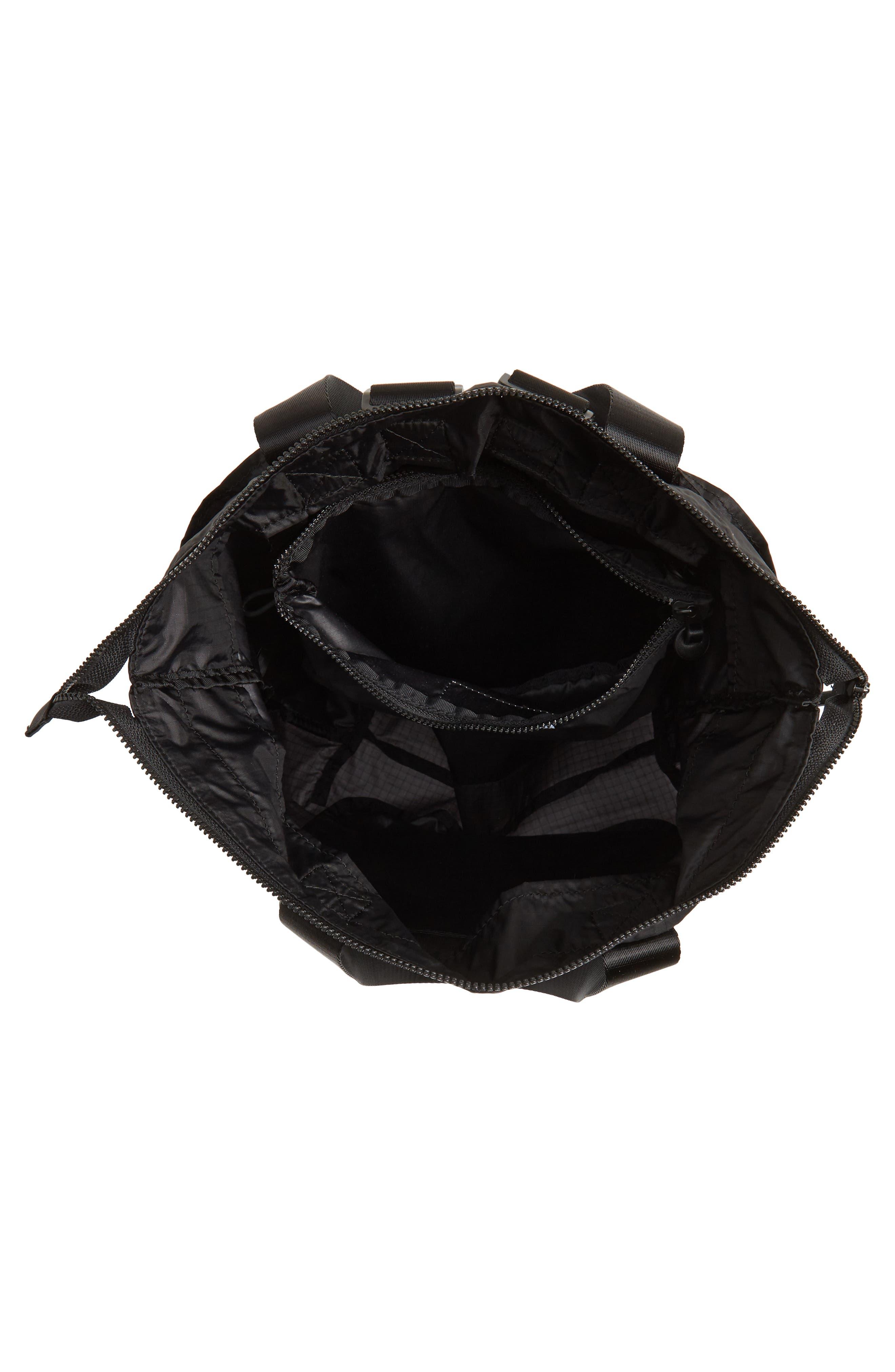 Packable Convertible Backpack,                             Alternate thumbnail 5, color,                             BLACK