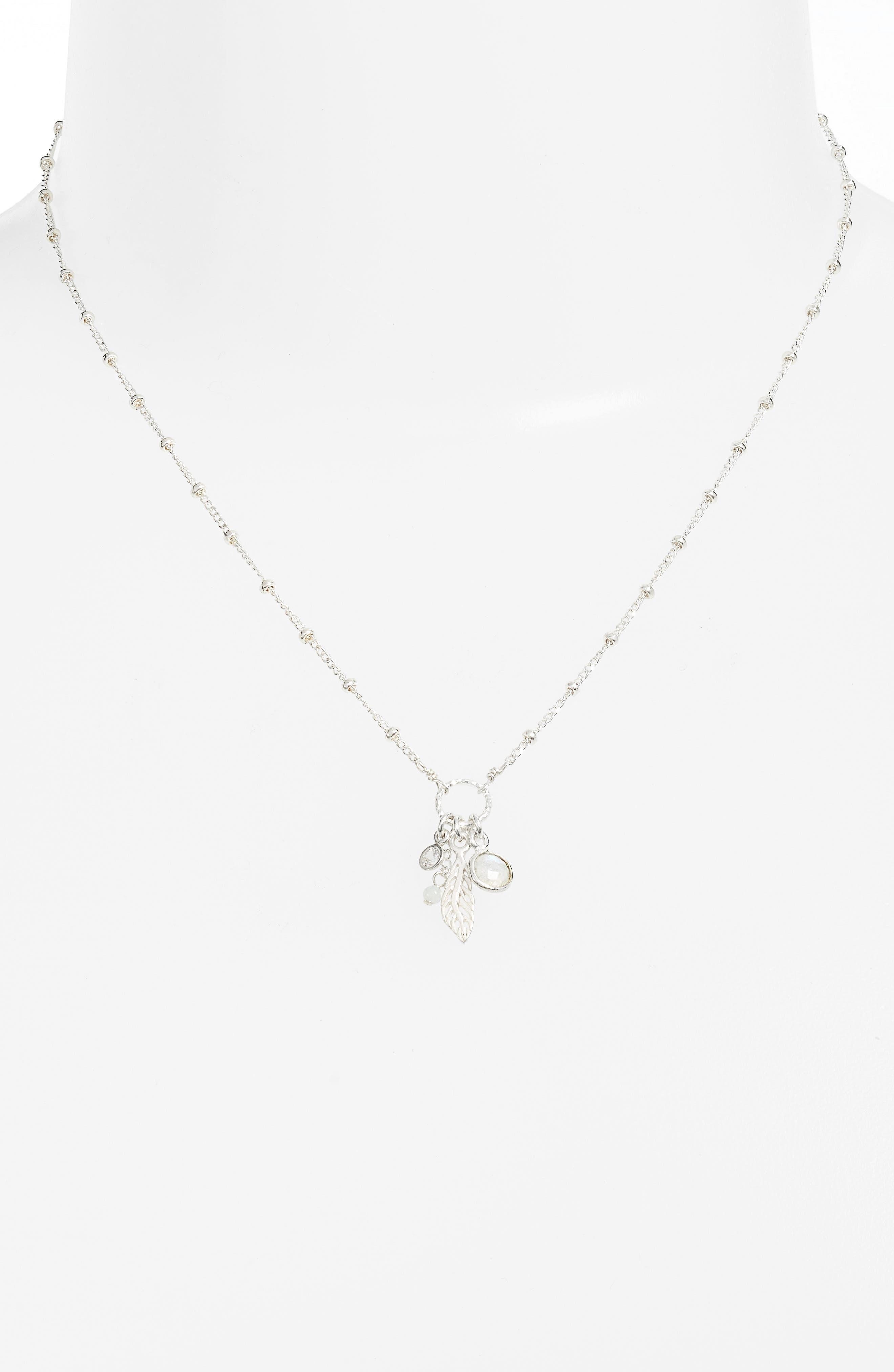 Featherlight Pendant Necklace,                             Alternate thumbnail 2, color,                             040