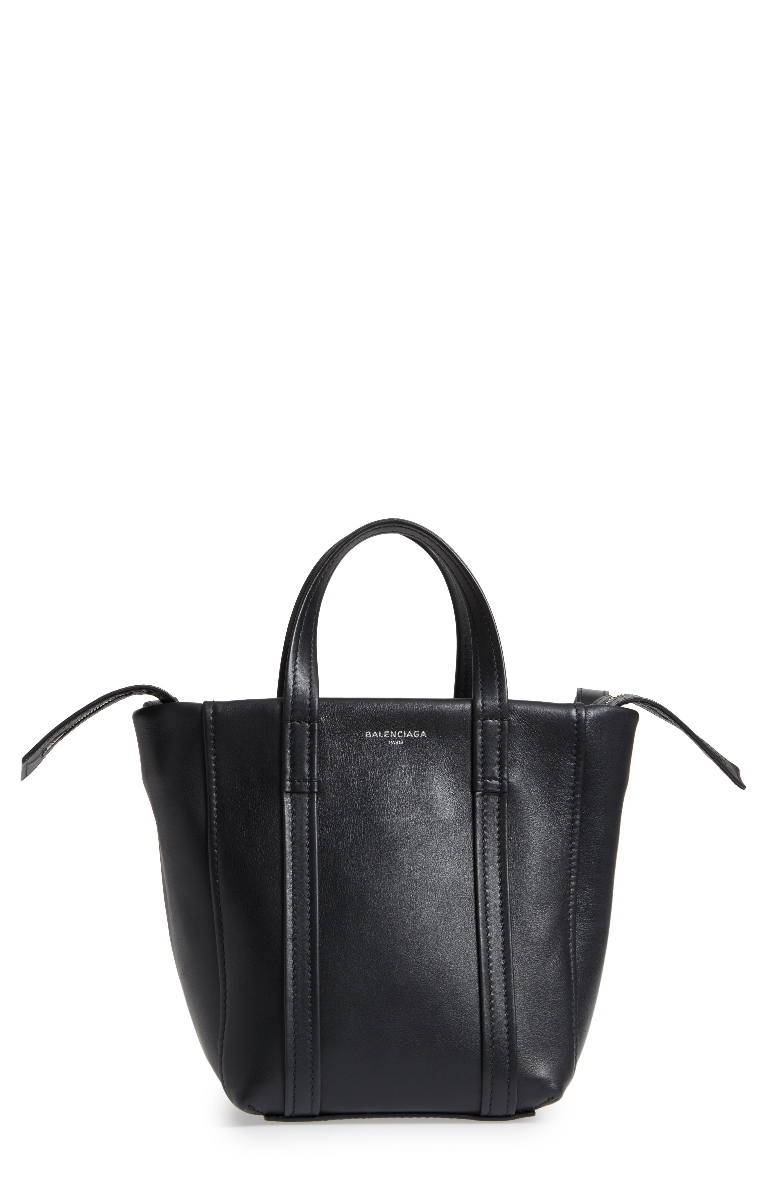 Extra Small Laundry Cabas Calfskin Tote,                         Main,                         color, 001
