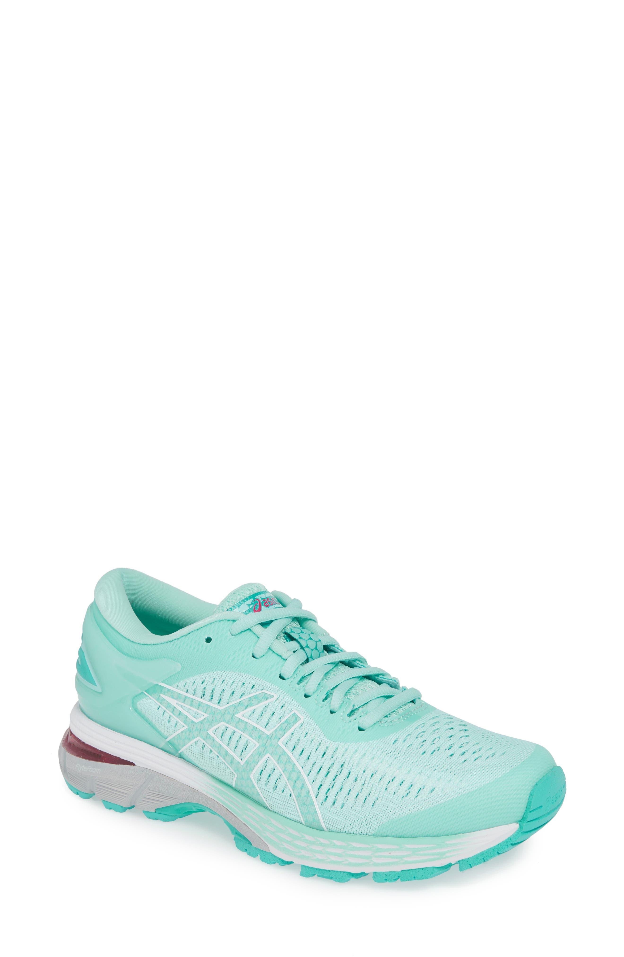 Asics Gel-Kayano 25 Running Shoe B - Blue/green