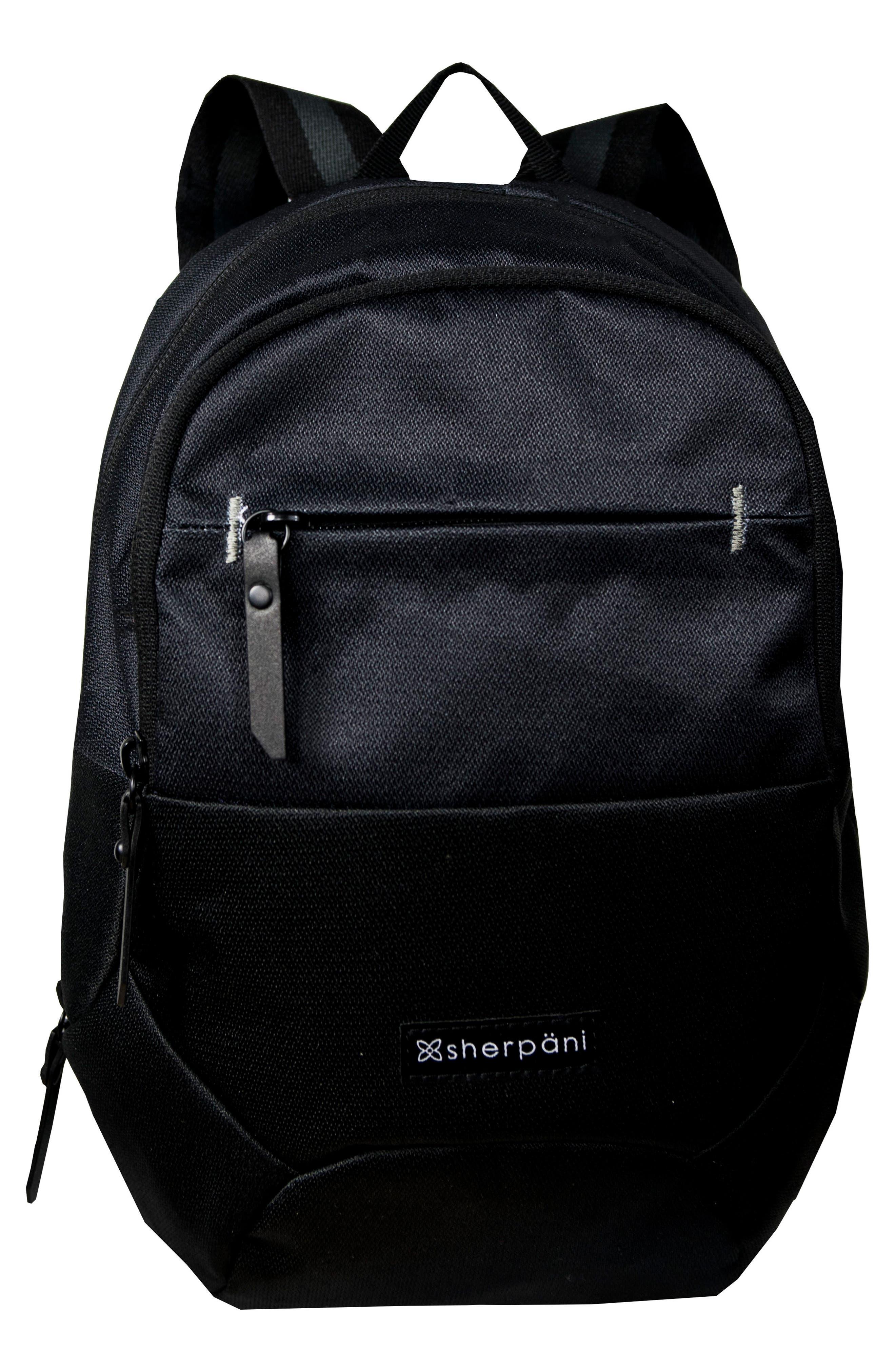 Mini Dash RFID Pocket Backpack,                             Main thumbnail 1, color,                             001