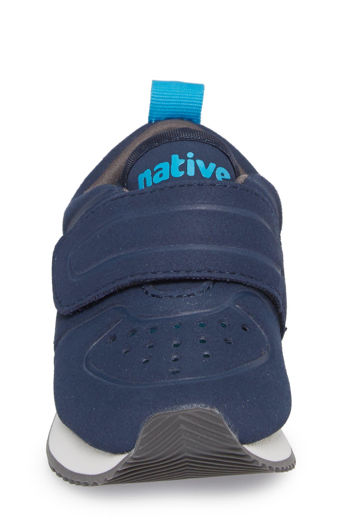 Native Cornell Perforated Sneaker,                             Alternate thumbnail 4, color,                             REGATTA BLUE/ SHELL WHITE