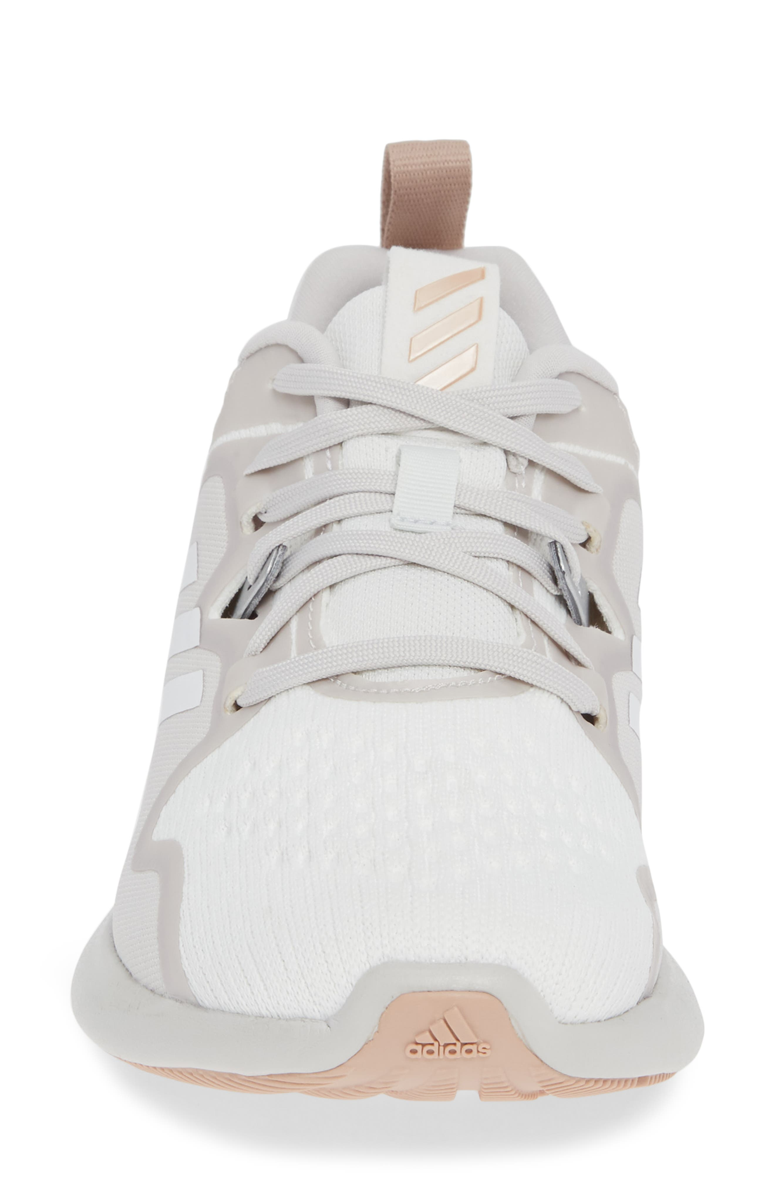 EdgeBounce Running Shoe,                             Alternate thumbnail 4, color,                             WHITE/ GREY ONE/ ASH PEARL