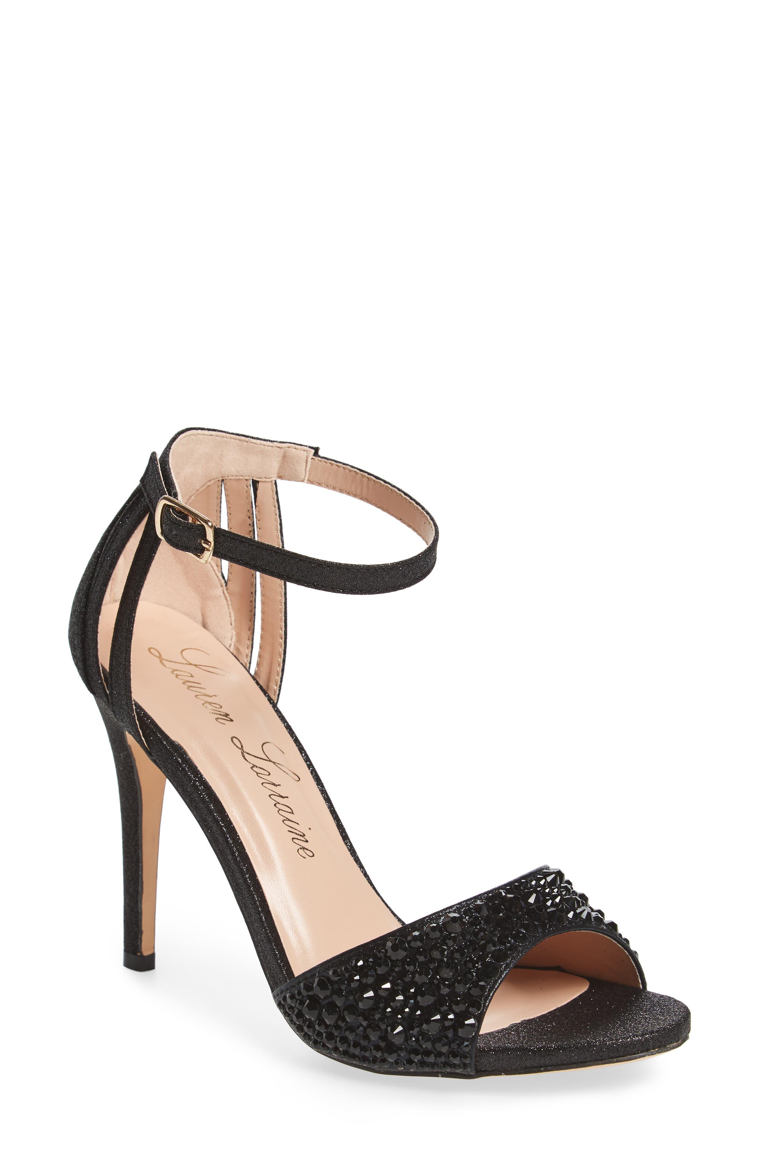 Maddy Embellished Sandal,                             Main thumbnail 1, color,                             001