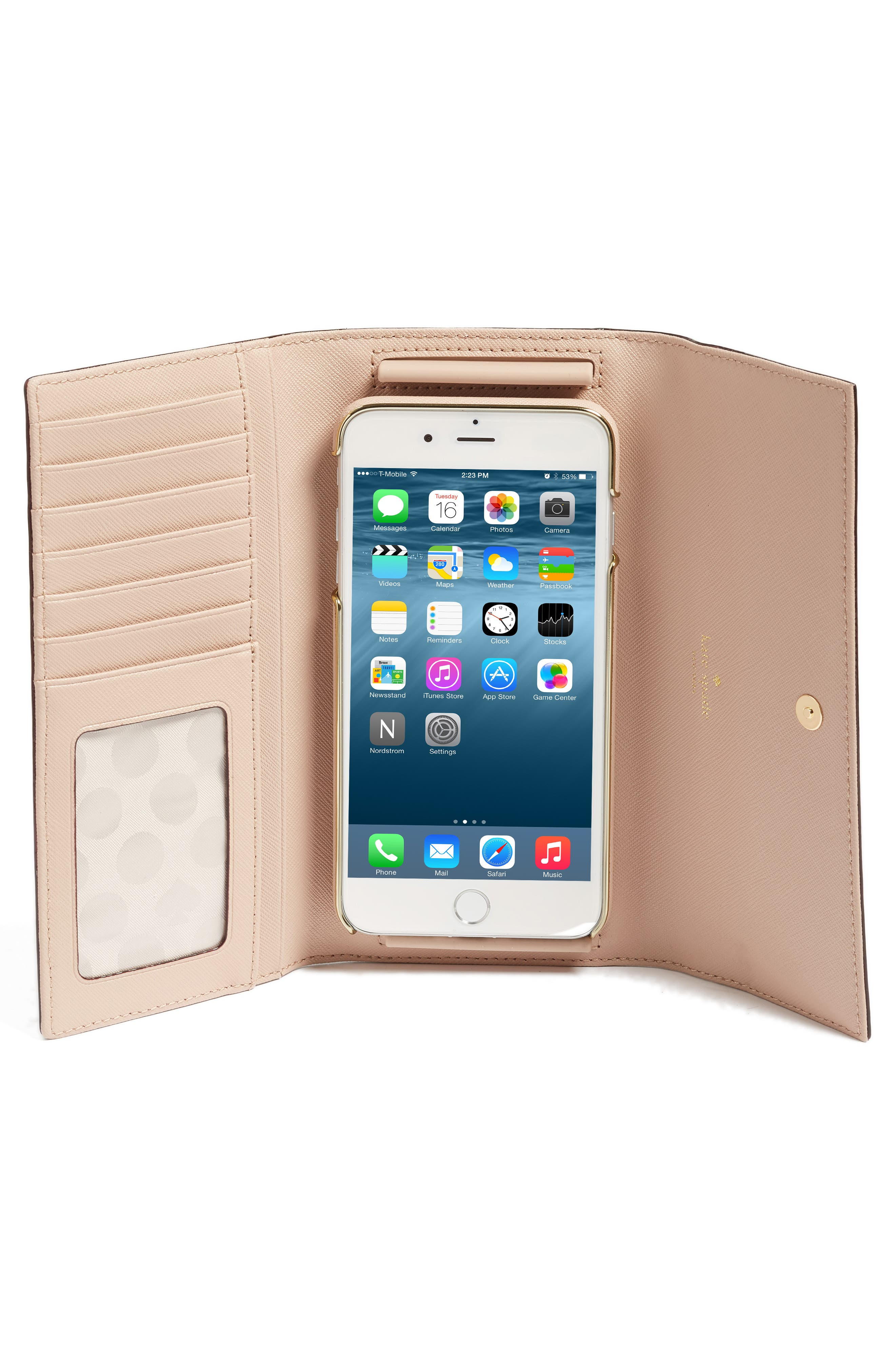 leather iPhone 7/8 & 7/8 Plus case,                             Alternate thumbnail 12, color,