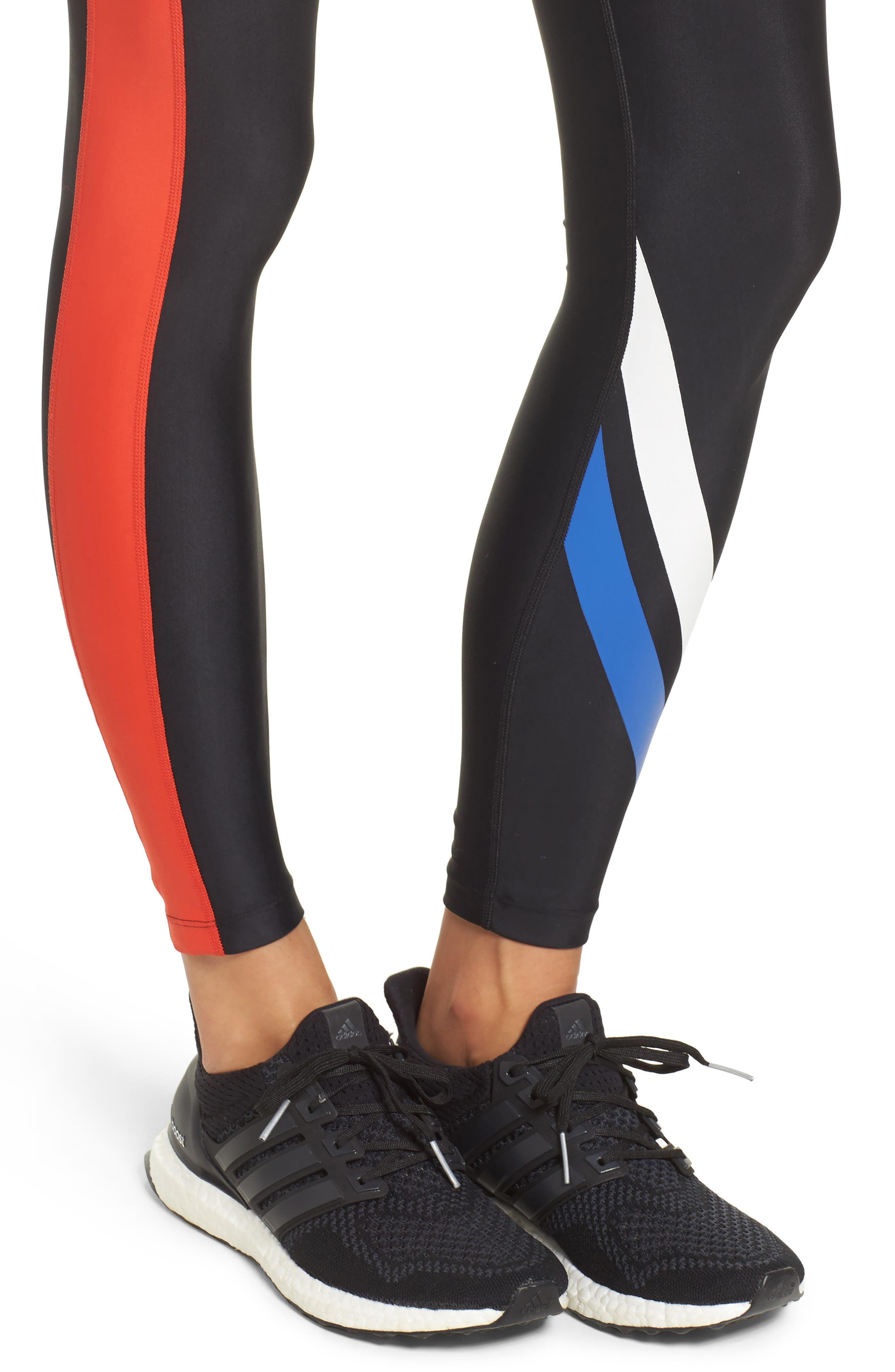 The Knock Out Leggings,                             Alternate thumbnail 4, color,                             001