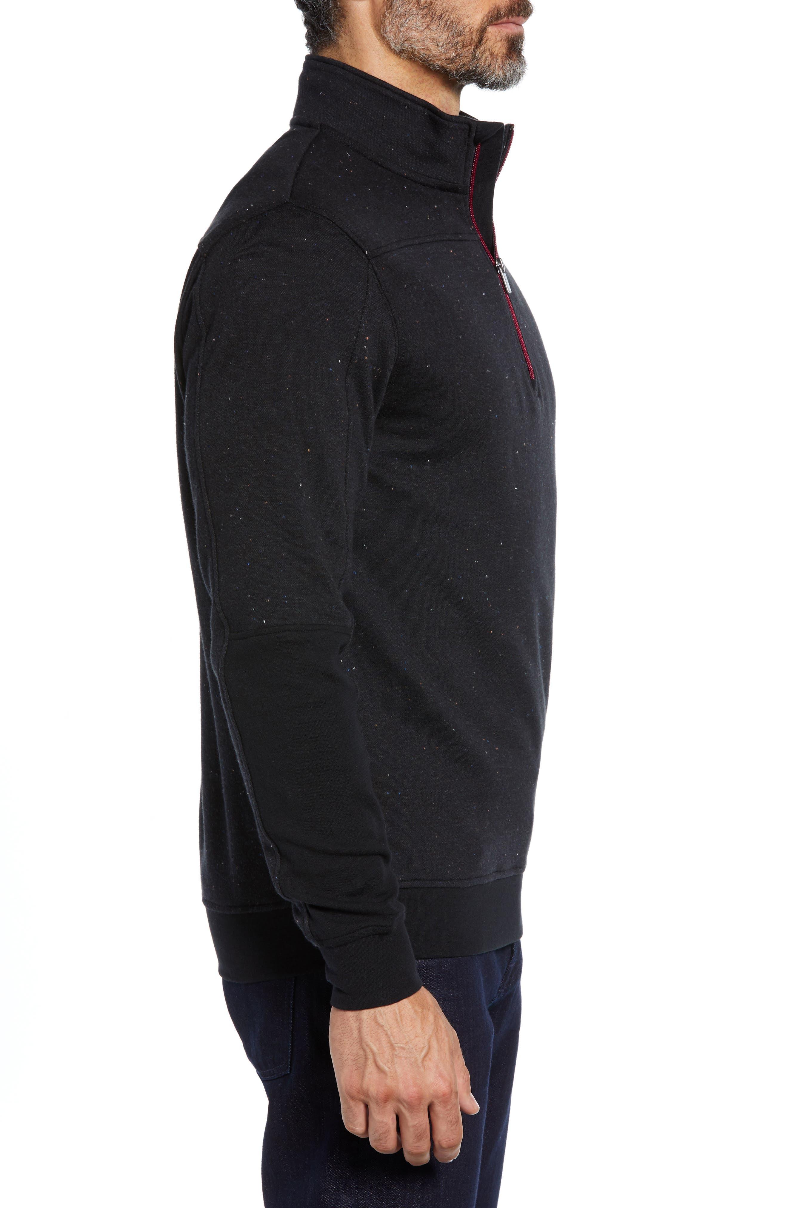 Regular Fit Pullover Sweatshirt,                             Alternate thumbnail 3, color,                             NAVY