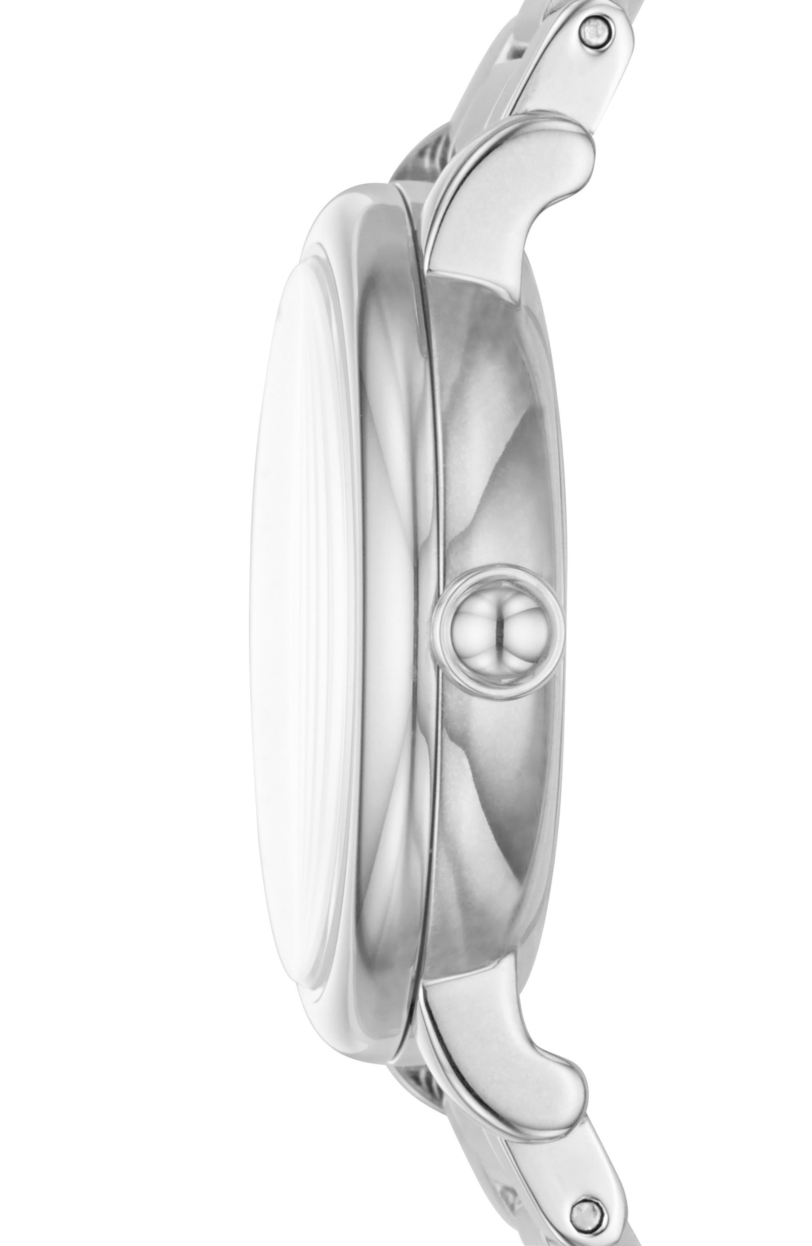 Roxy Crystal Bracelet Watch, 28mm,                             Alternate thumbnail 2, color,                             040