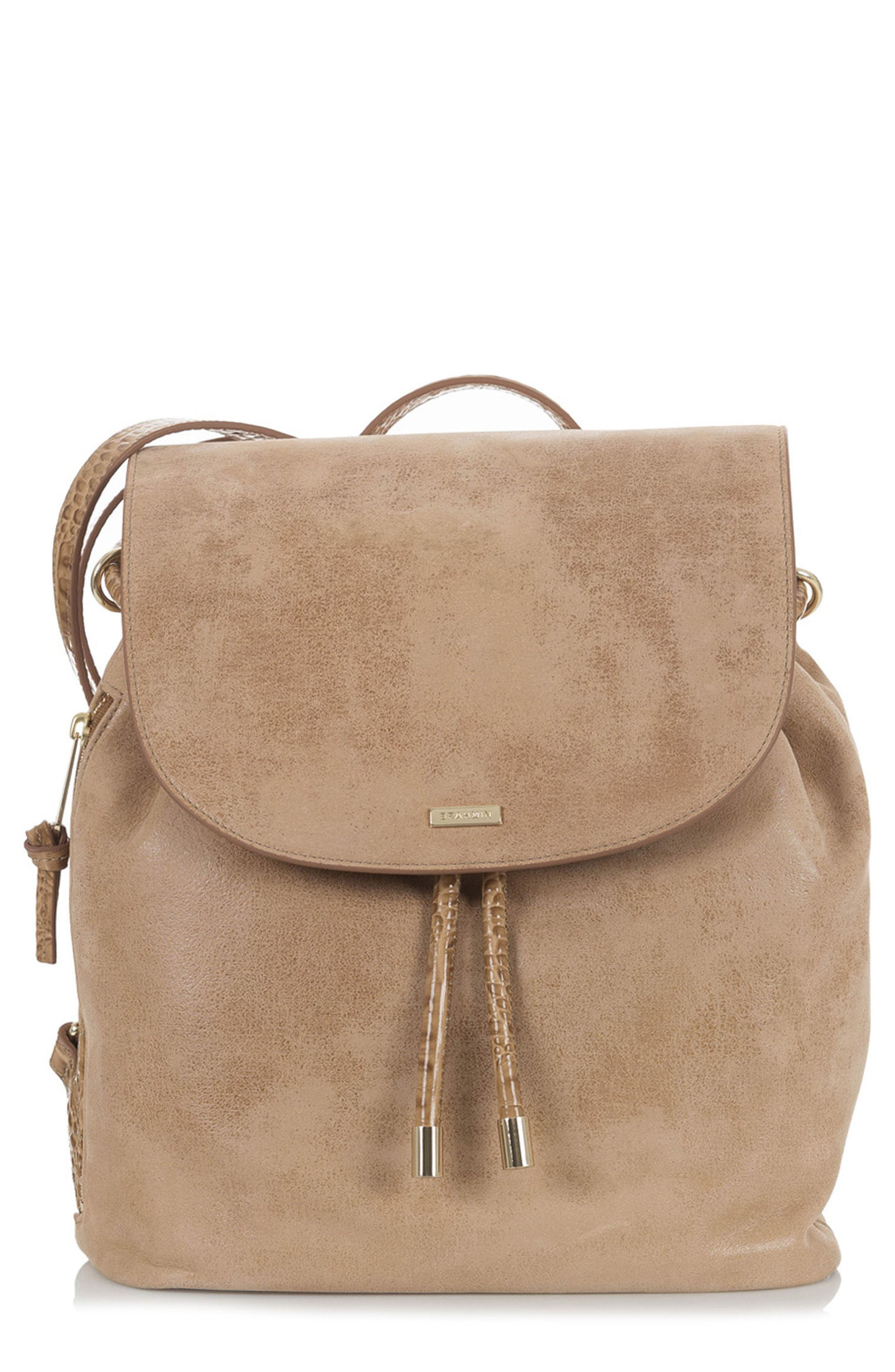 Josie Leather Backpack,                             Main thumbnail 1, color,                             200