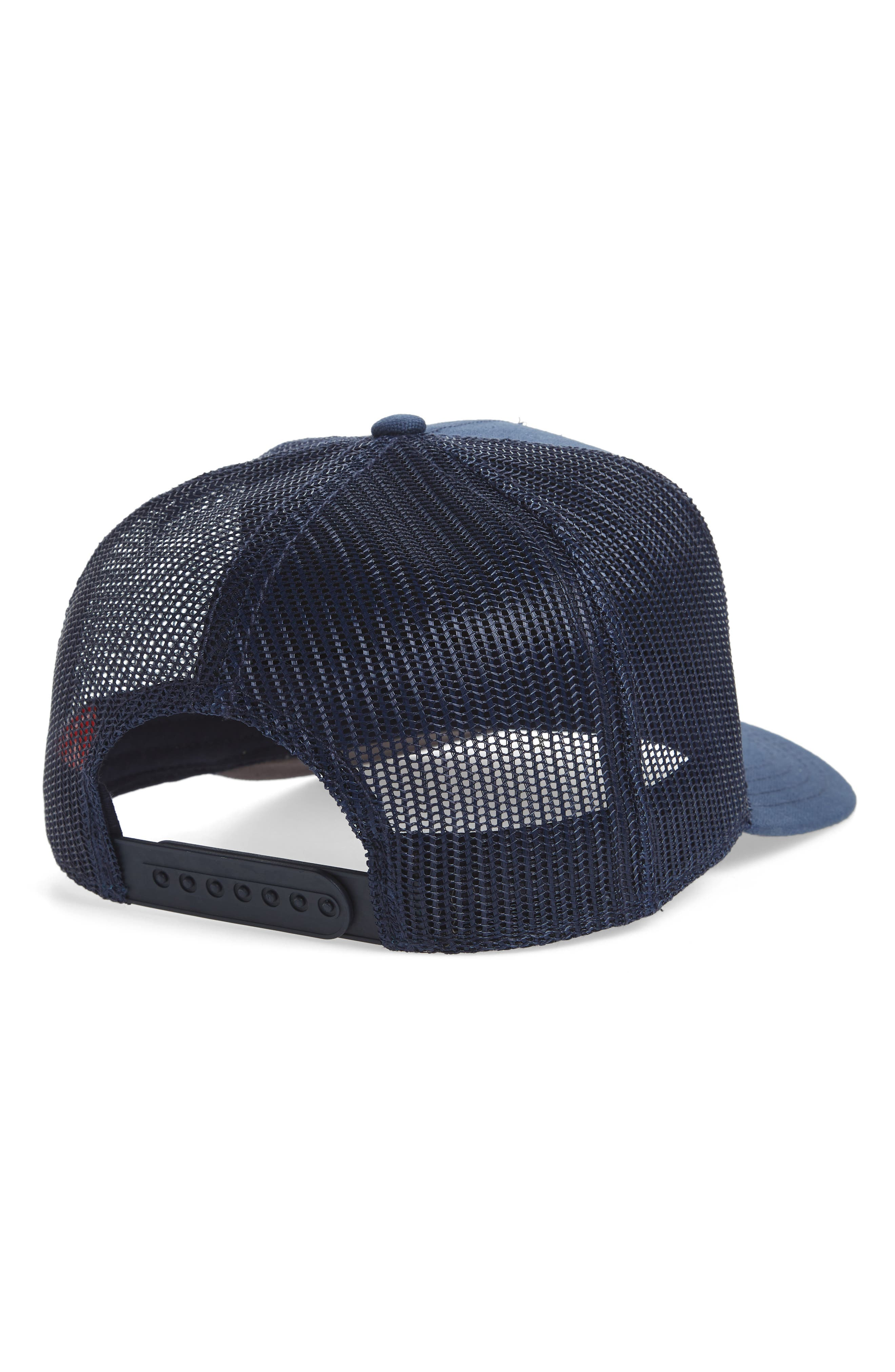Valin Coast Trucker Cap,                             Alternate thumbnail 4, color,