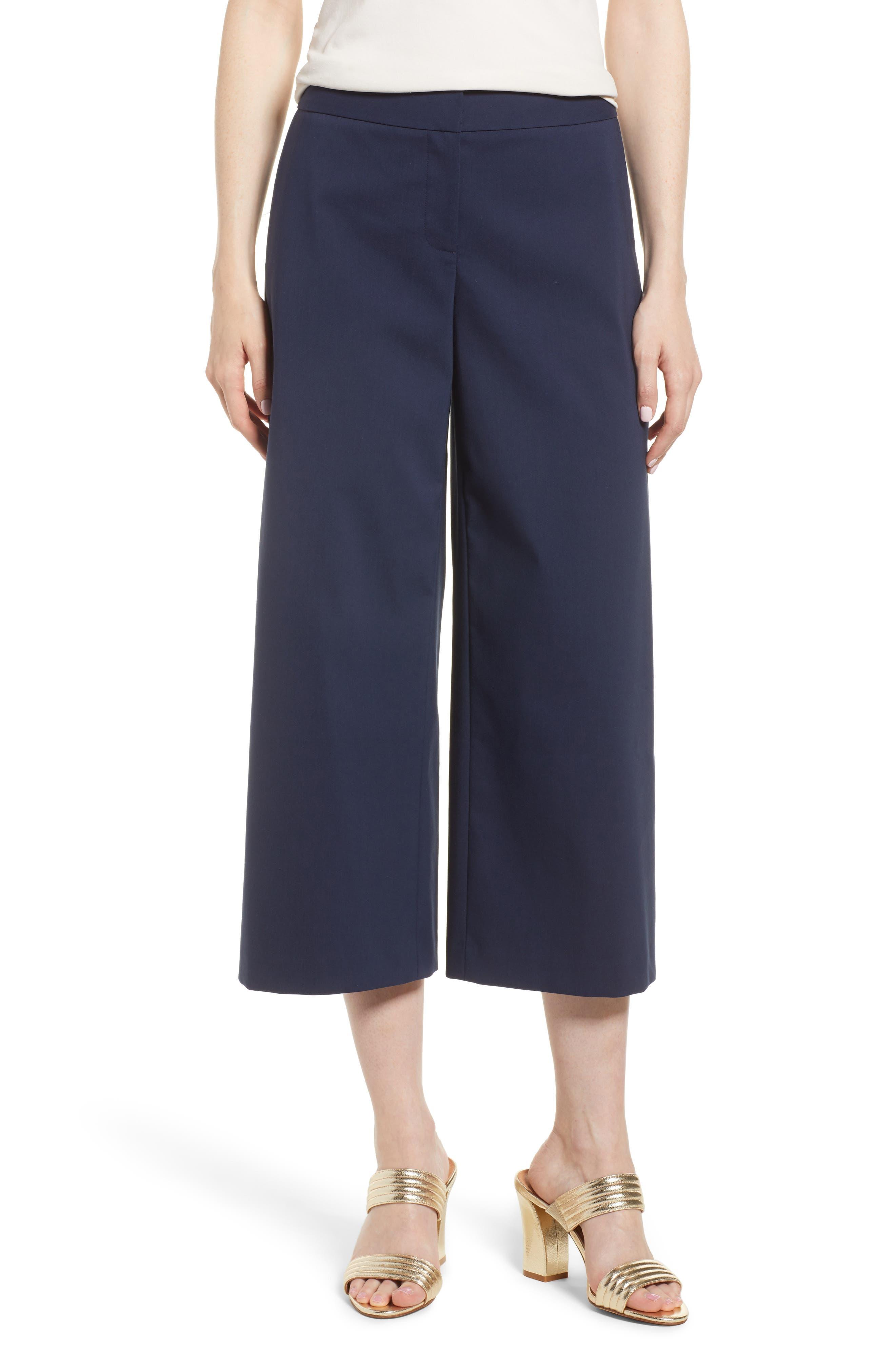 Wide Leg Crop Pants,                             Main thumbnail 1, color,                             410