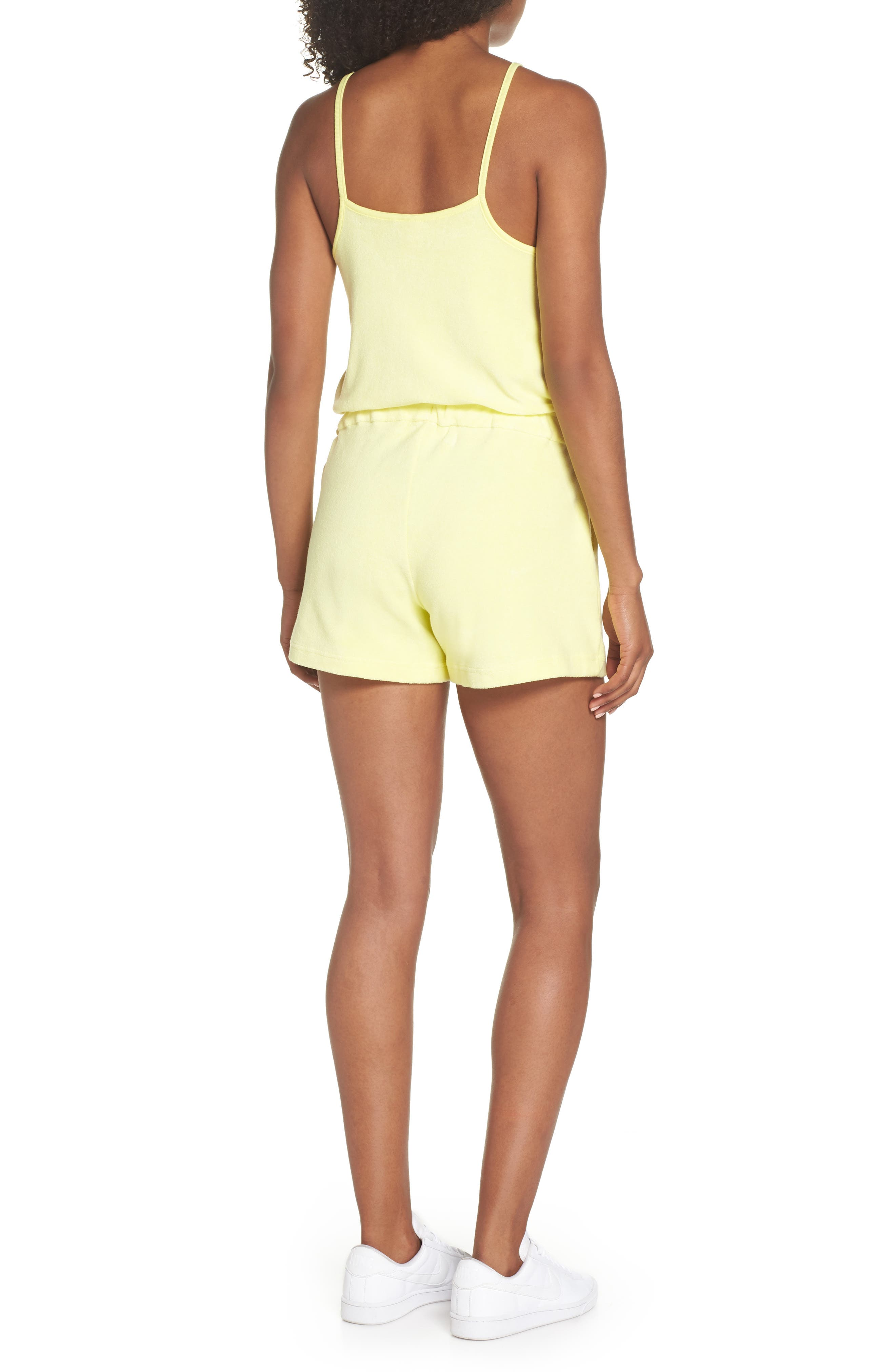 Sportswear Terry Romper,                             Alternate thumbnail 6, color,