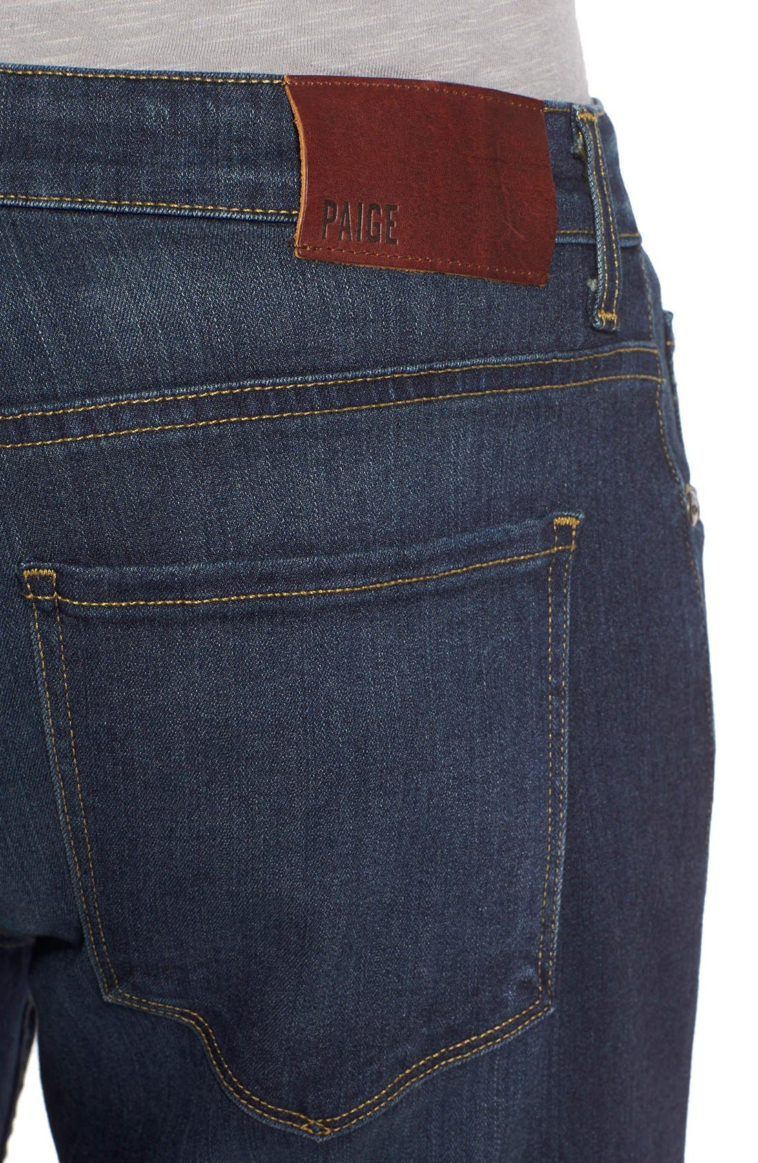 'Normandie' Straight Leg Jeans,                             Alternate thumbnail 4, color,                             RIGBY