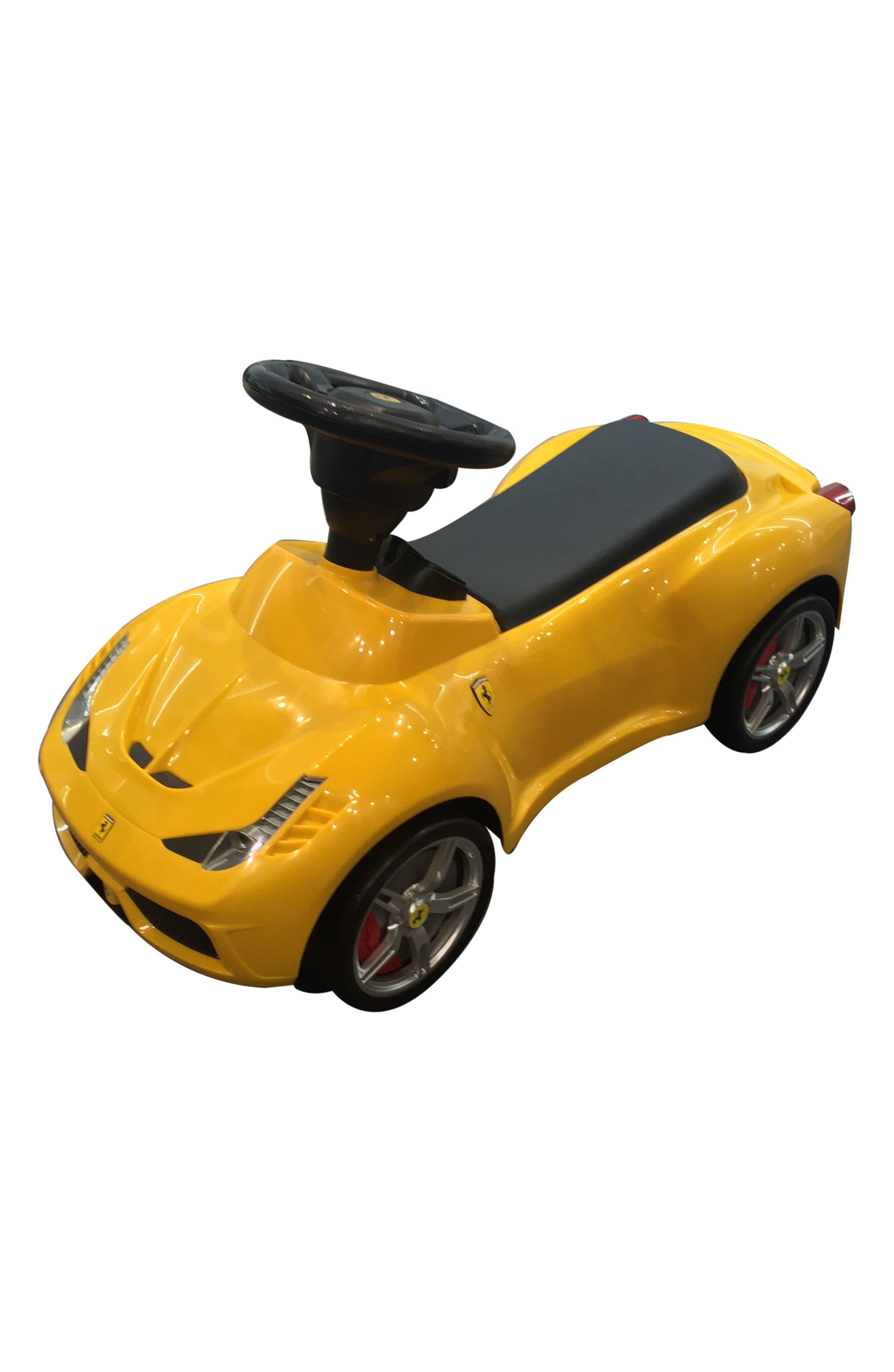 Ferrari Ride-On Push Car,                             Main thumbnail 1, color,                             700