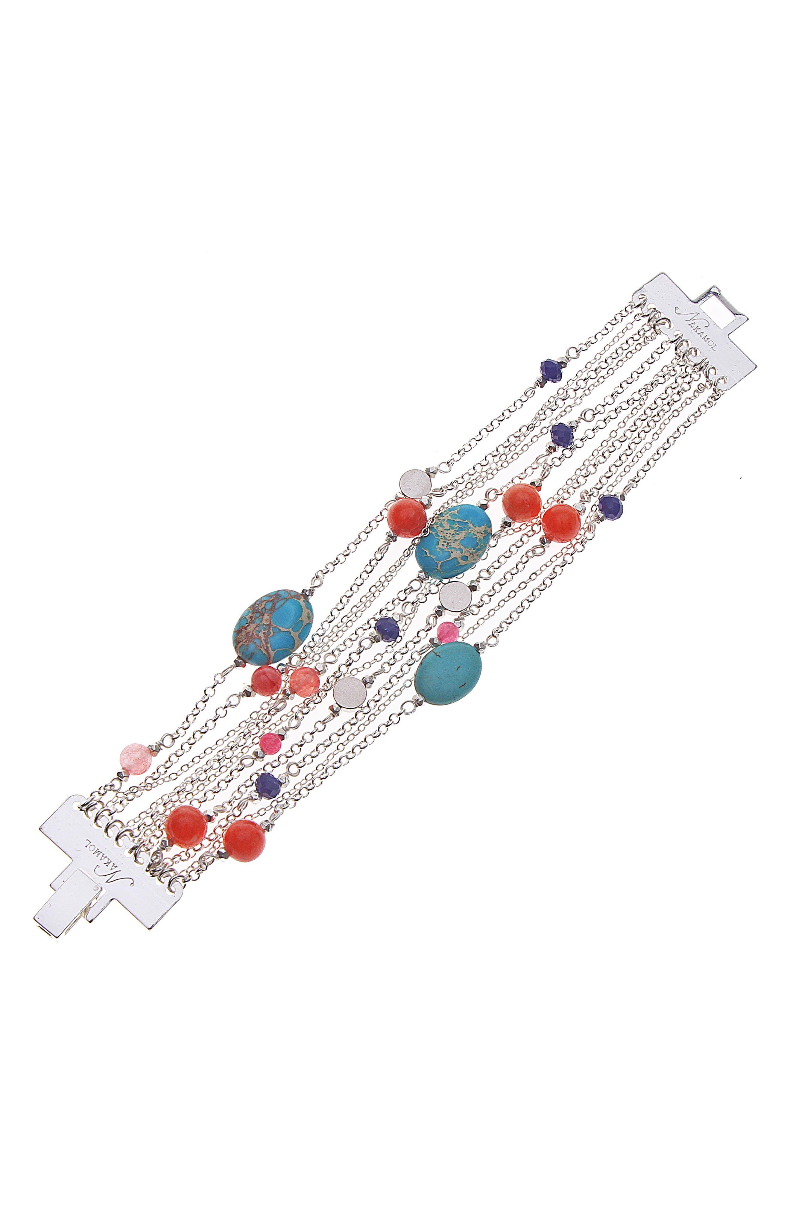 Multistrand Bracelet,                             Main thumbnail 1, color,                             040