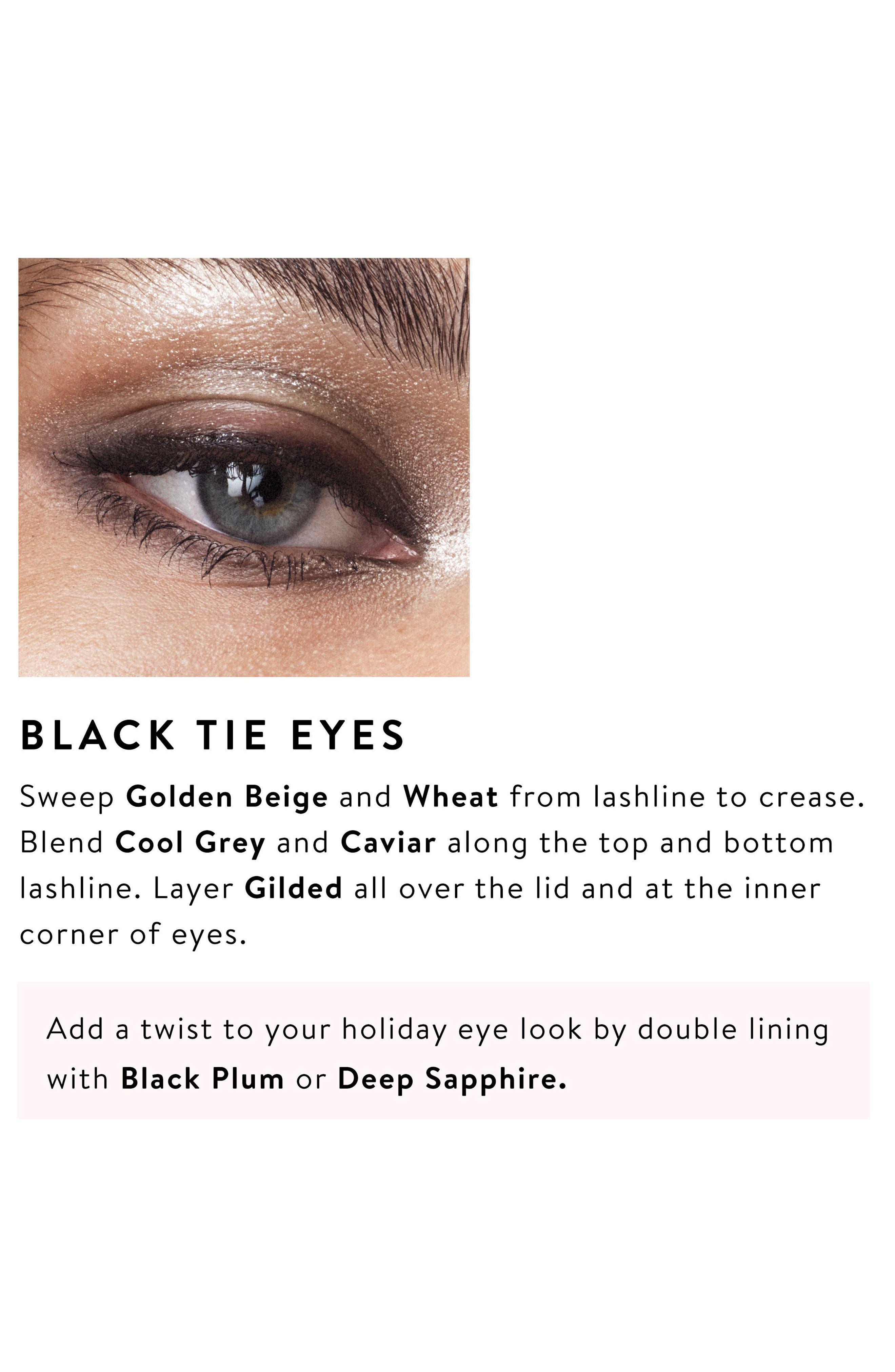 Caviar & Rubies Eyeshadow Palette,                             Alternate thumbnail 4, color,                             000