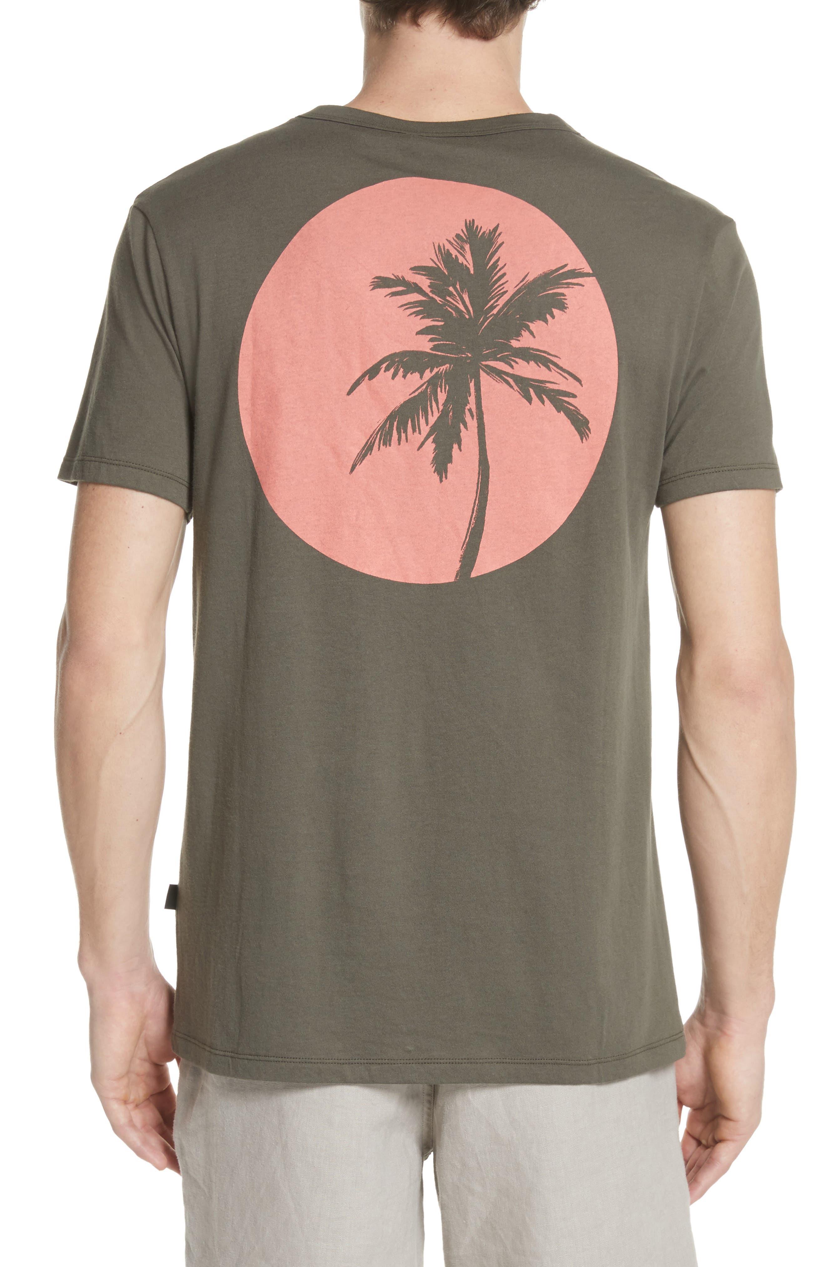 Johnny Sun Palm Graphic T-Shirt,                             Alternate thumbnail 2, color,                             DEEP SAGE