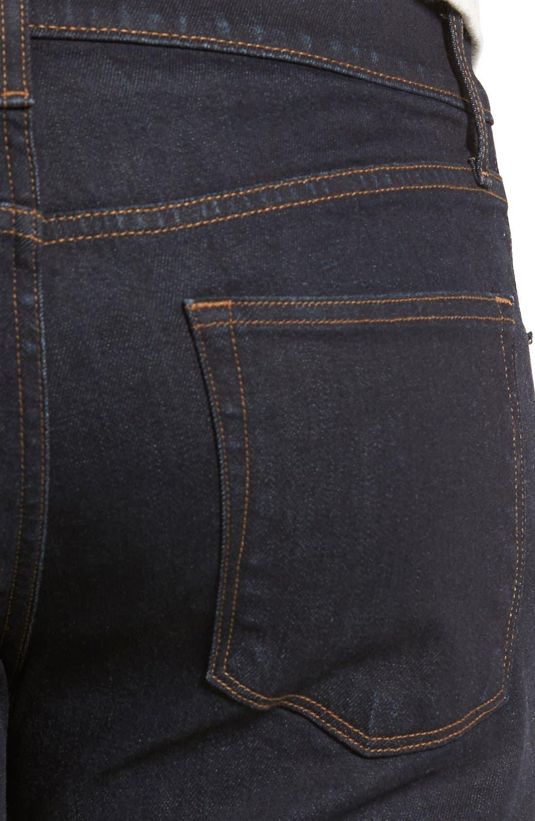 Tyler Slim Fit Jeans,                             Alternate thumbnail 6, color,                             WILSON BLUE