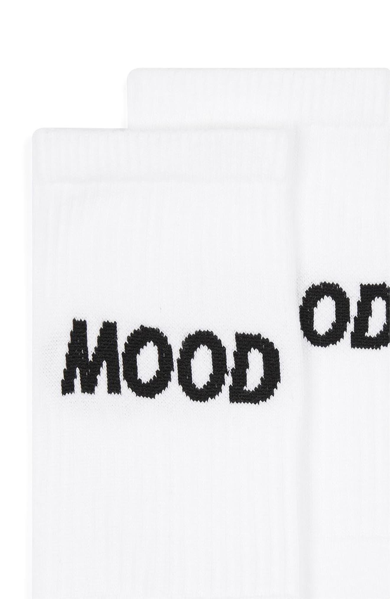 Mood Tube Socks,                             Alternate thumbnail 2, color,                             100