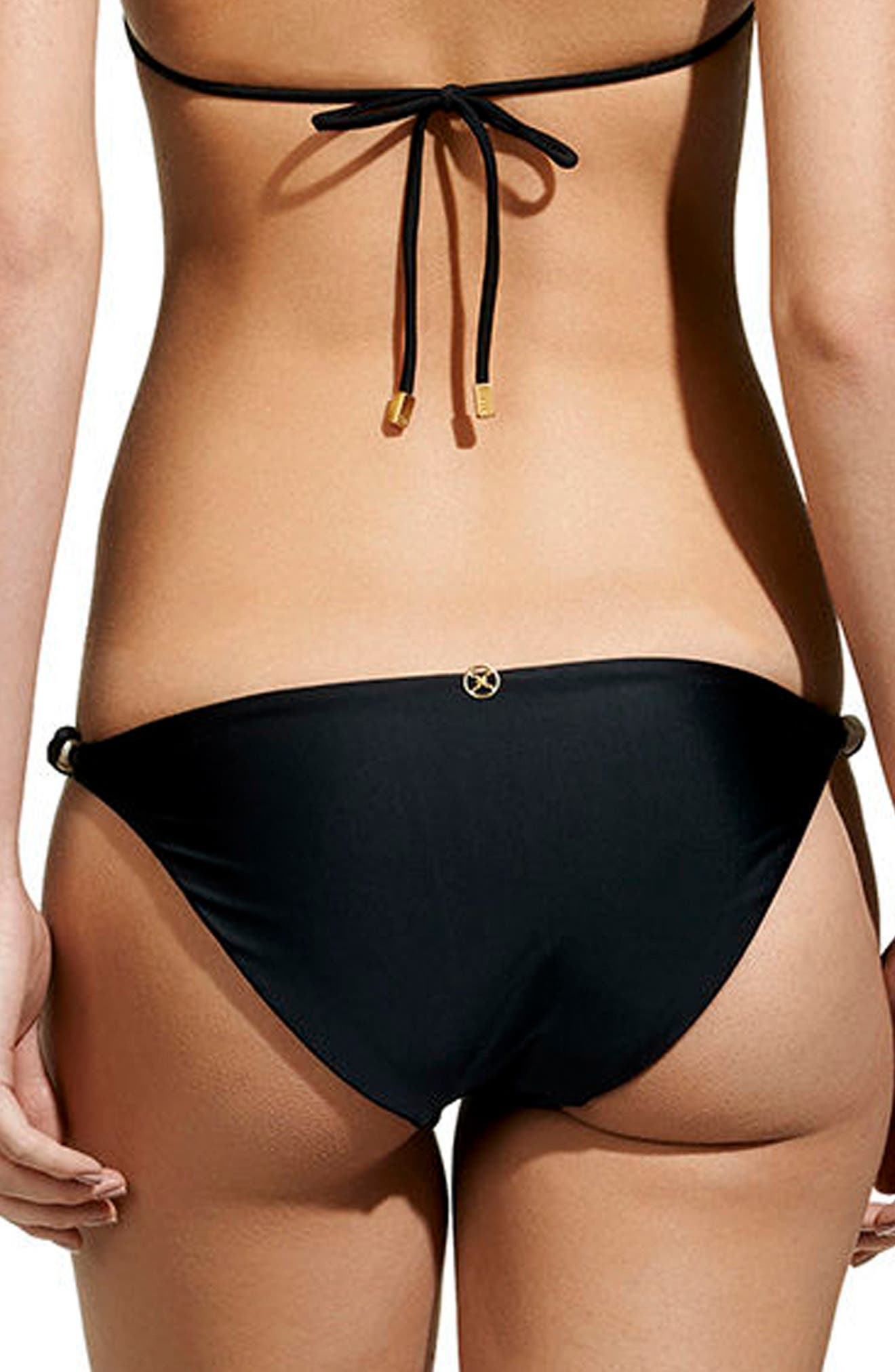 Reversible Bikini Bottoms,                             Alternate thumbnail 3, color,                             001