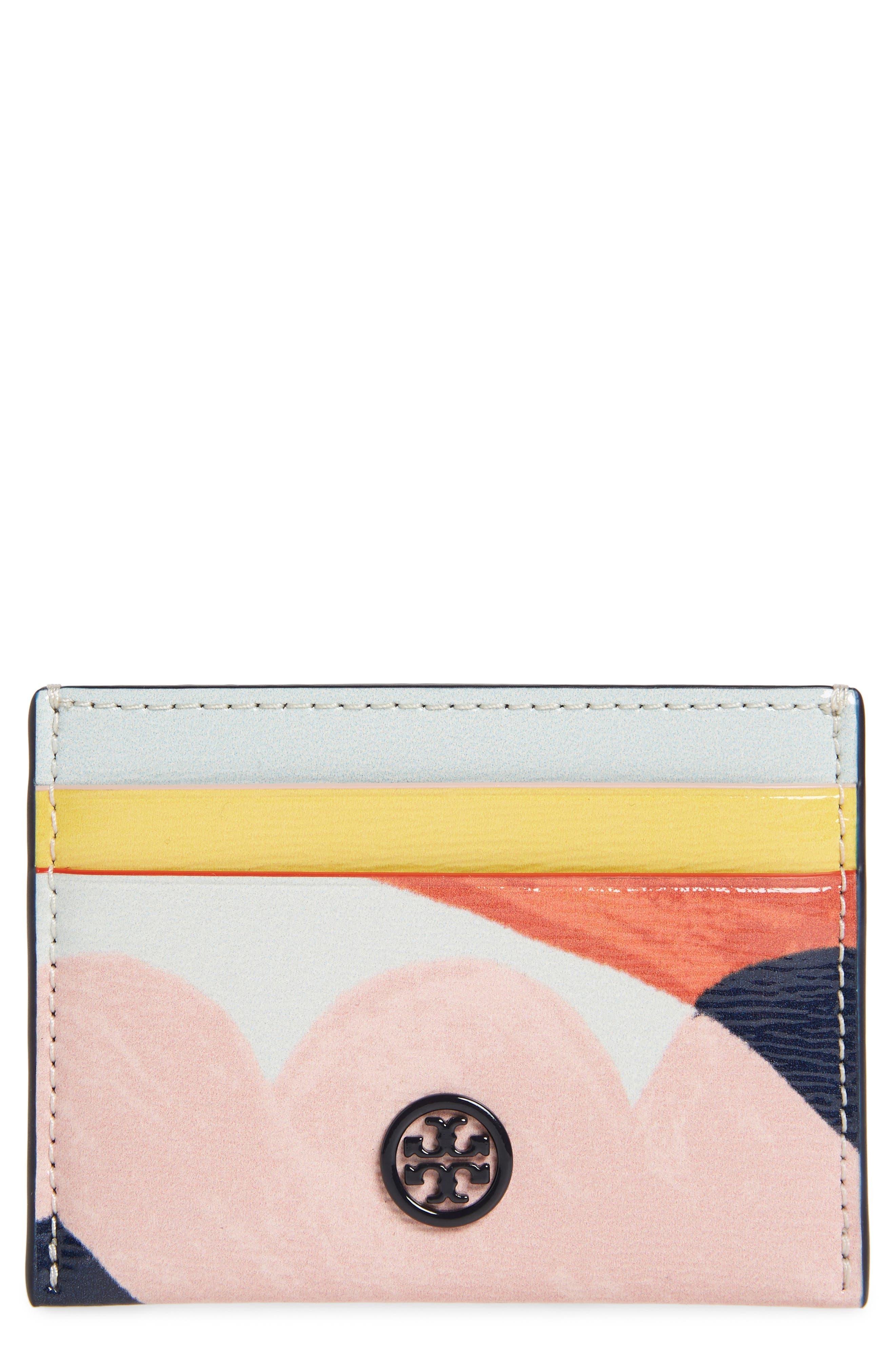 Robinson Leather Card Case,                             Main thumbnail 1, color,                             INSIDE THE BOX