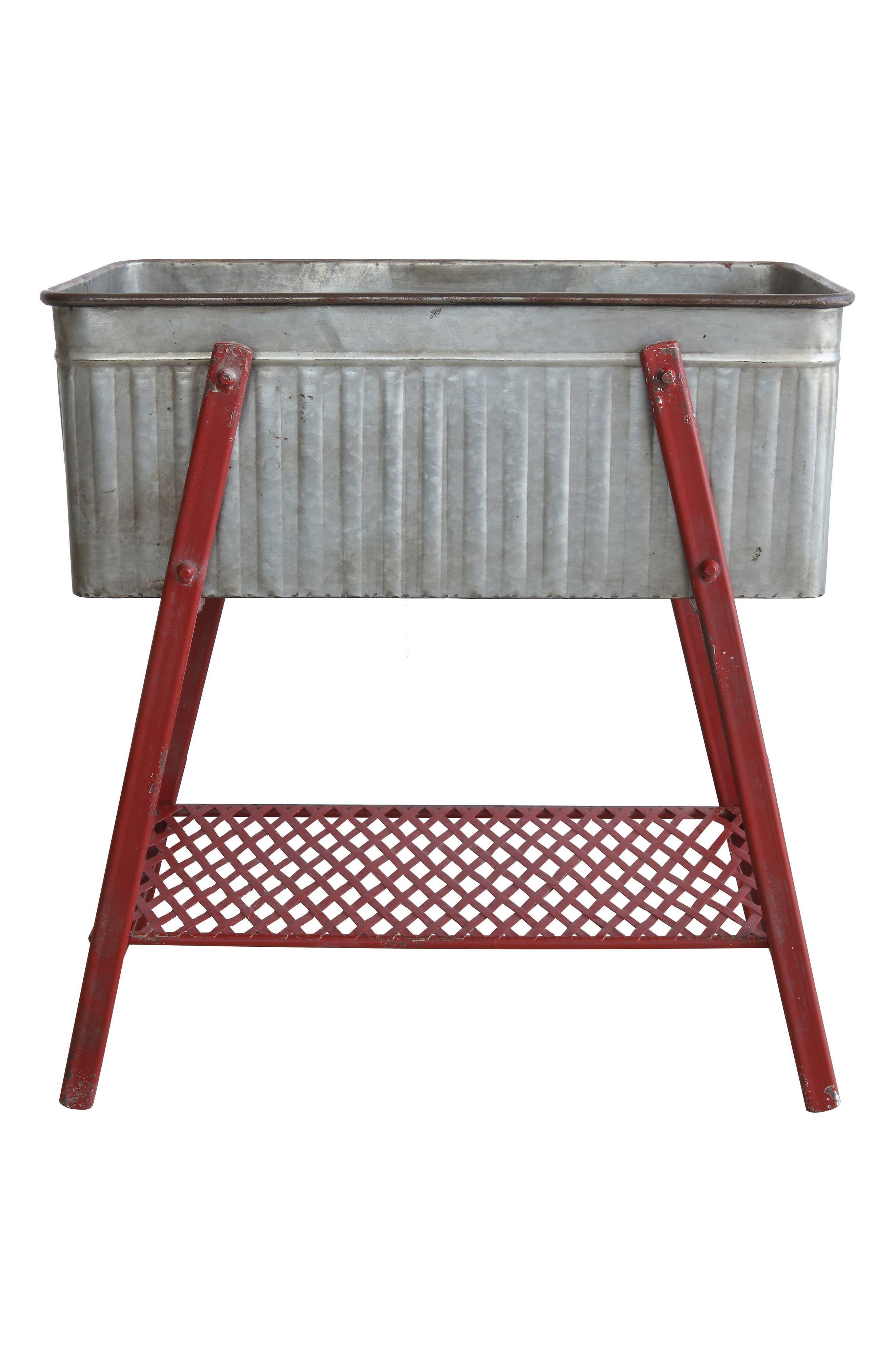 Metal Beverage Tub,                         Main,                         color, 600