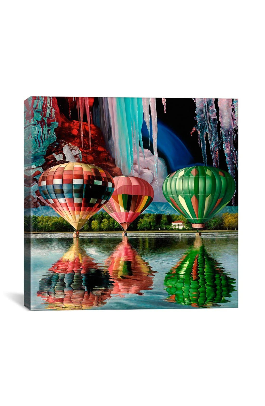'Splendor Falls' Giclée Print Canvas Art,                         Main,                         color,