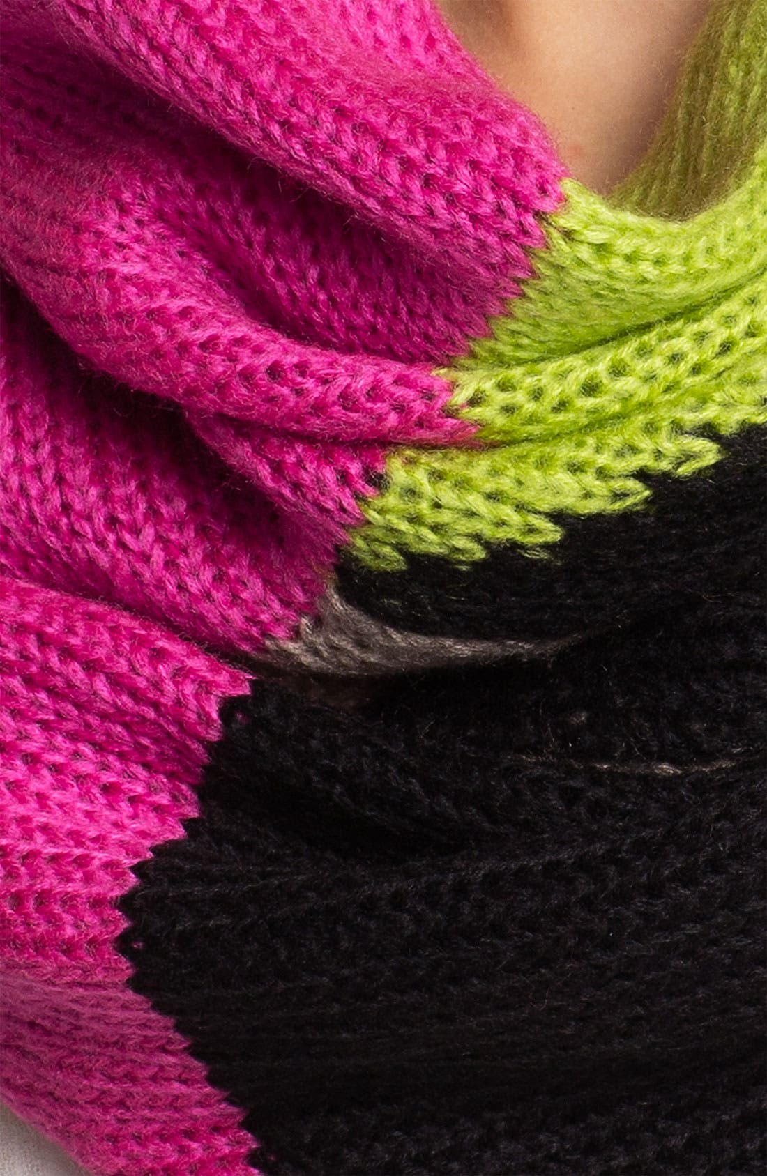 'Block Party' Infinity Scarf,                             Alternate thumbnail 4, color,