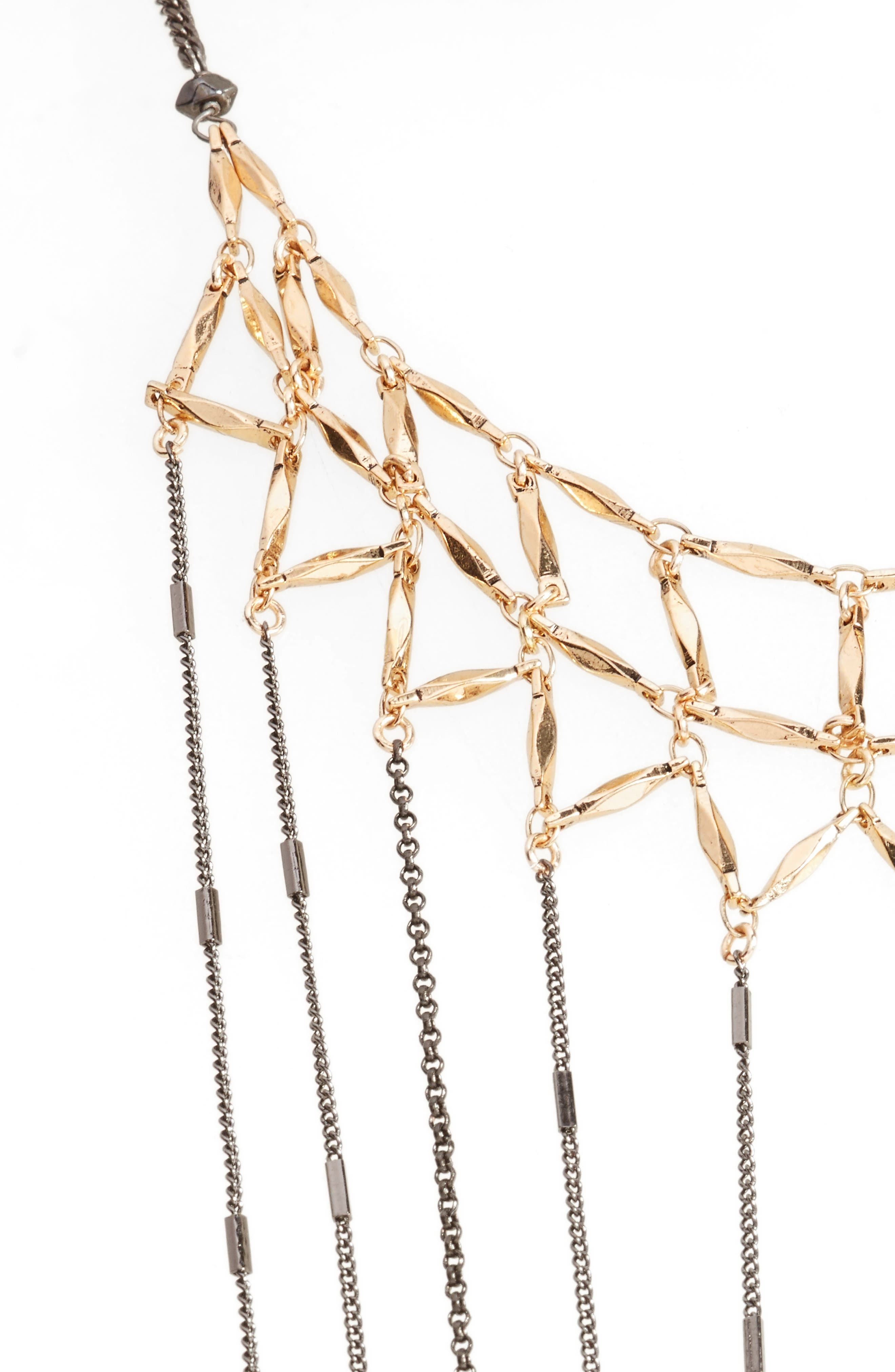 Draped Chain Necklace,                         Main,                         color, 020