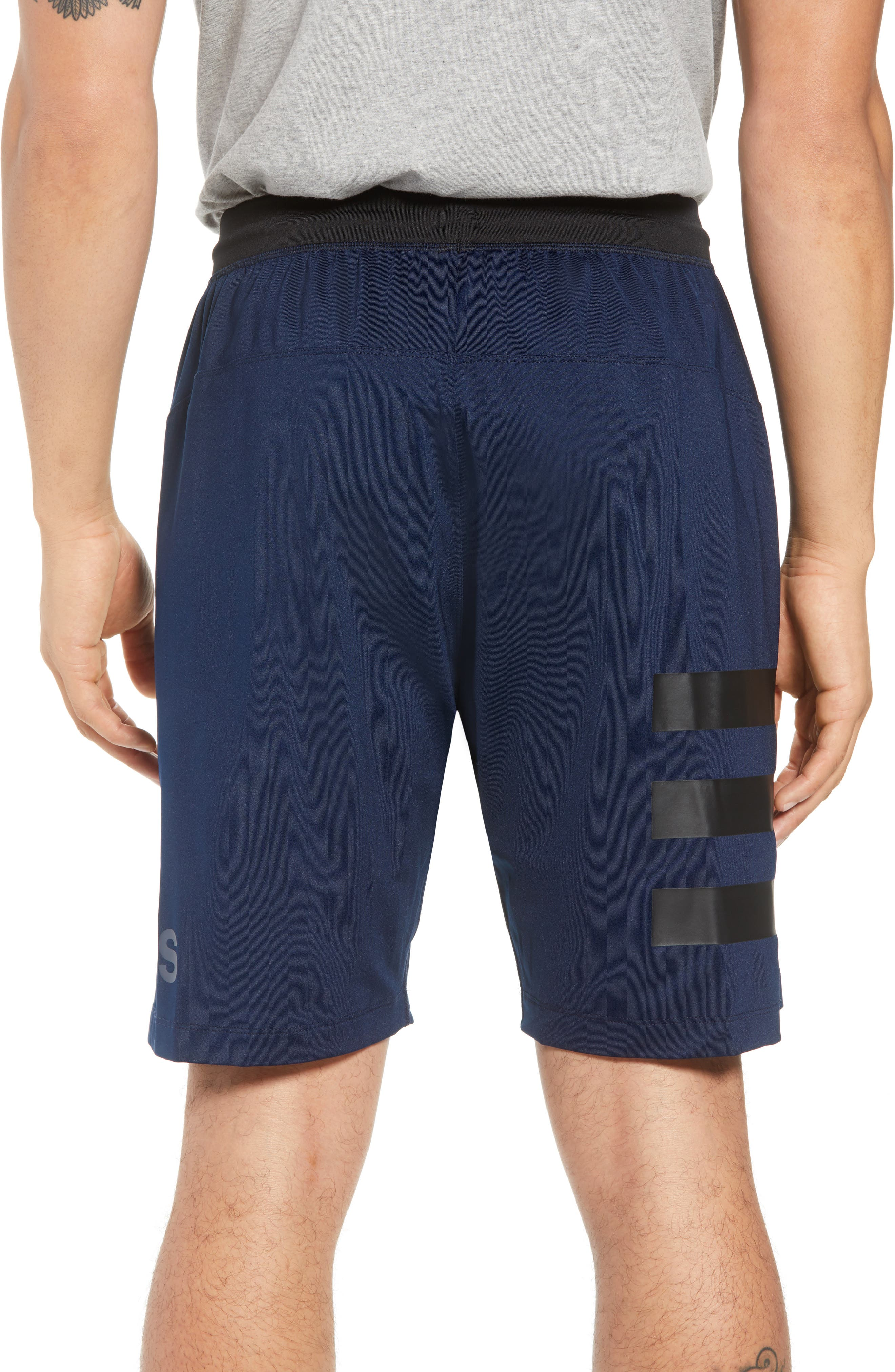 SB Hype Icon Shorts,                             Alternate thumbnail 2, color,                             COLLEGIATE NAVY/ BLACK