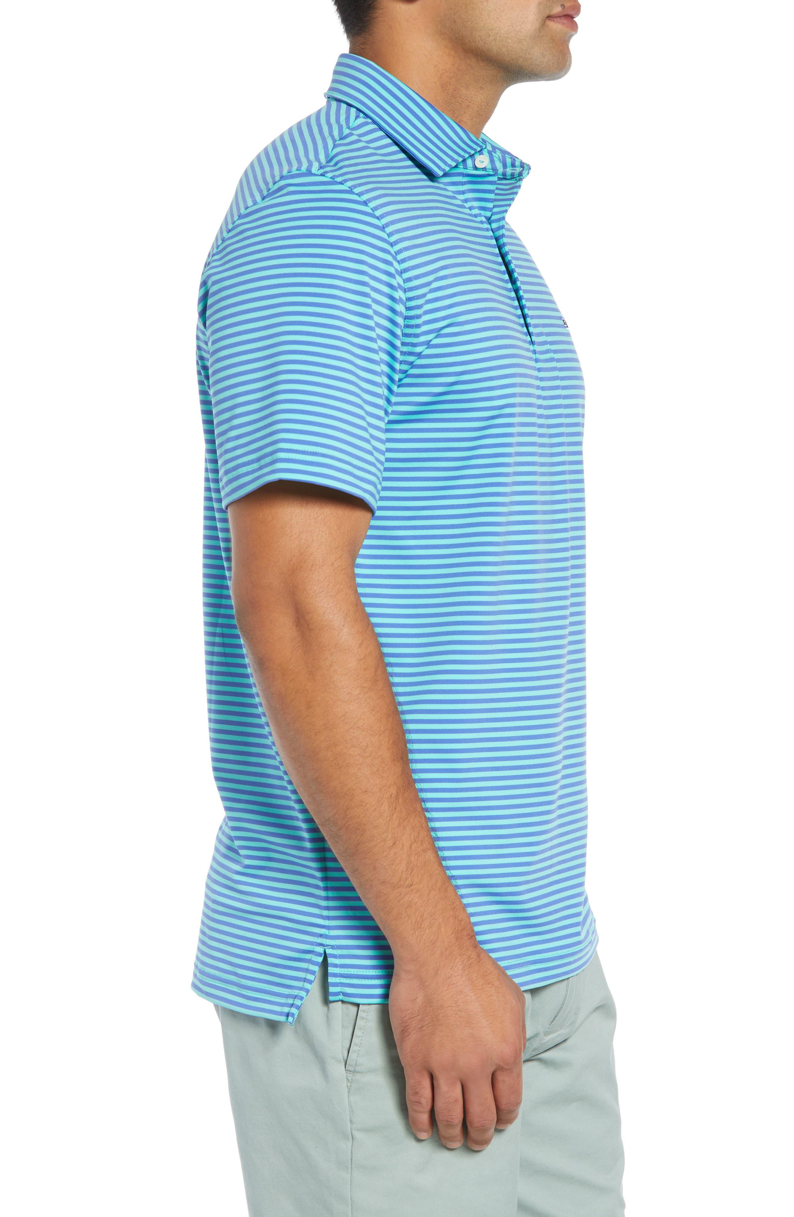 Kennedy Stripe Golf Polo,                             Alternate thumbnail 42, color,