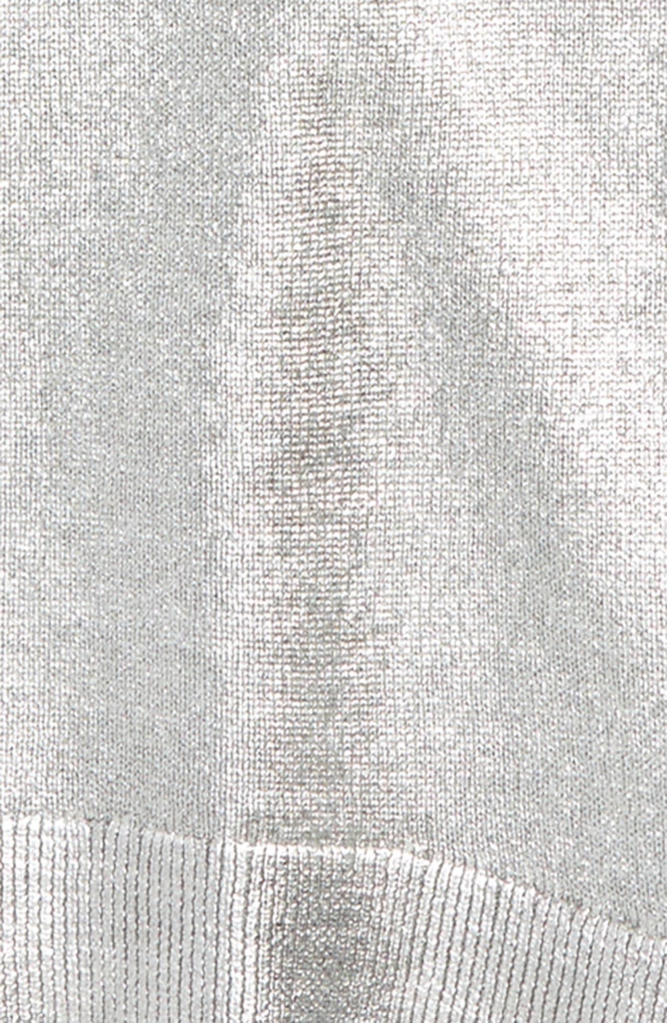 Kids Jewel Foil Sweater,                             Alternate thumbnail 2, color,