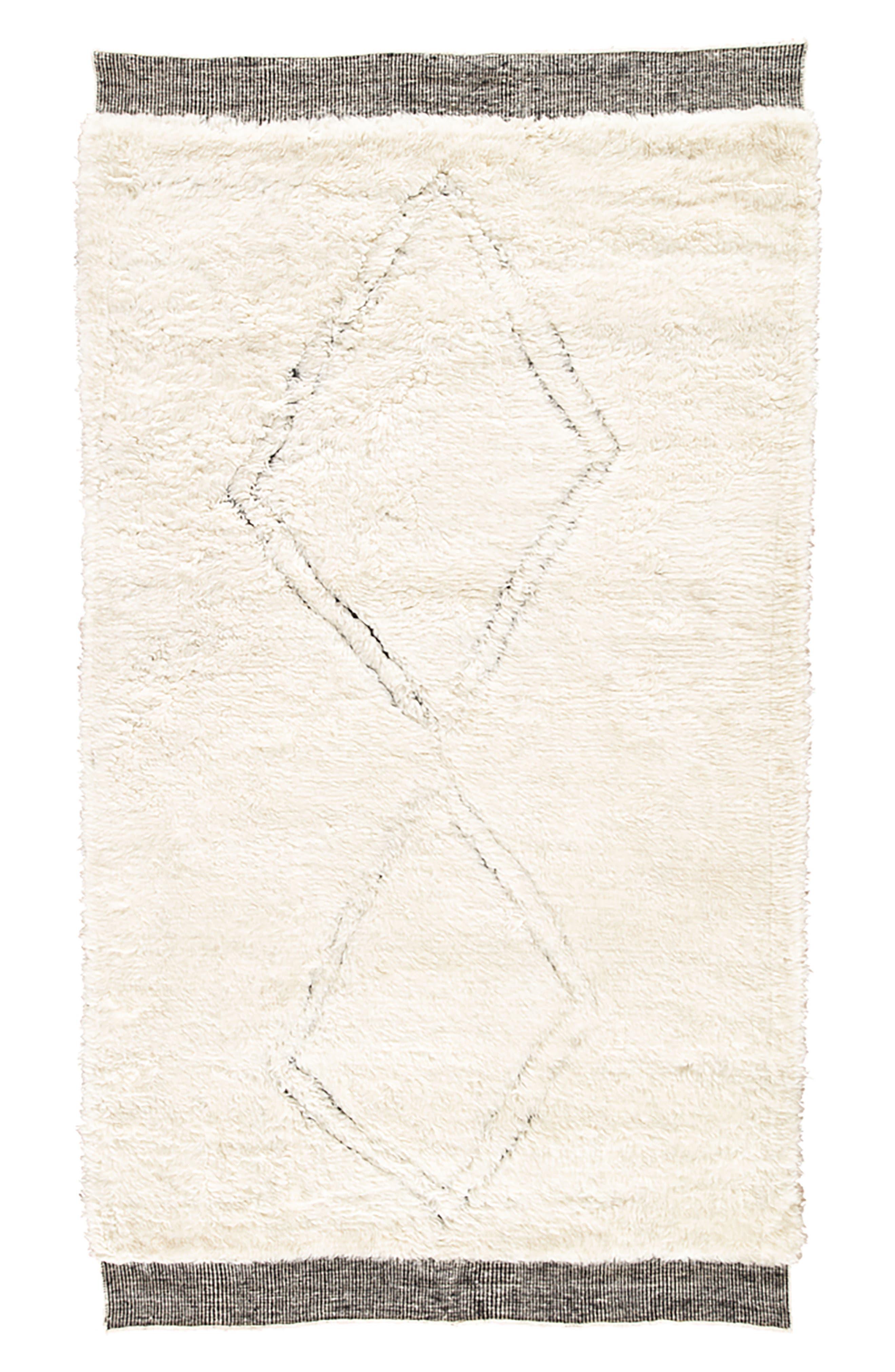 Ephesus Rug,                             Main thumbnail 1, color,                             ANGORA