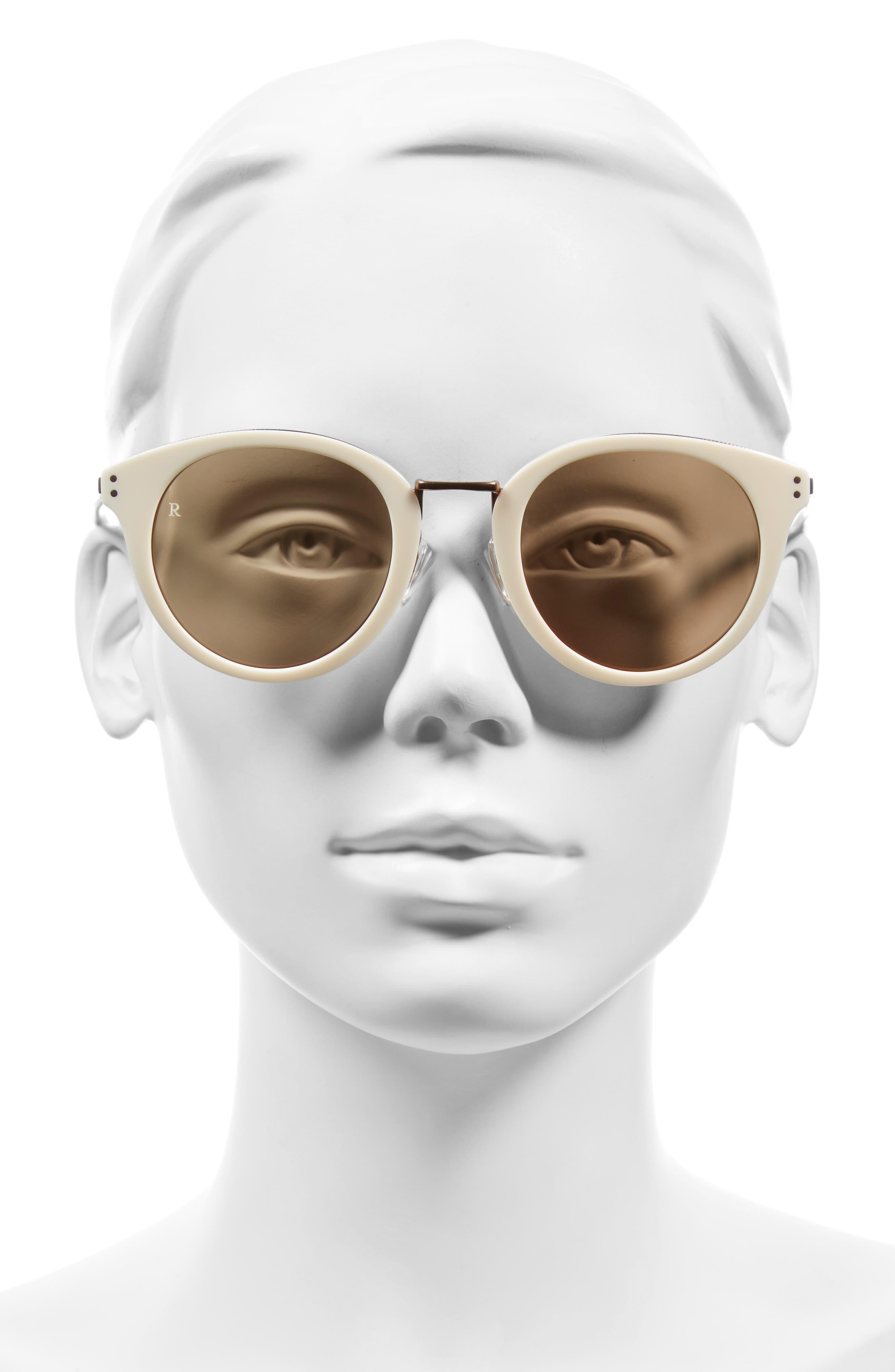 Portrero 50mm Sunglasses,                             Alternate thumbnail 3, color,                             100