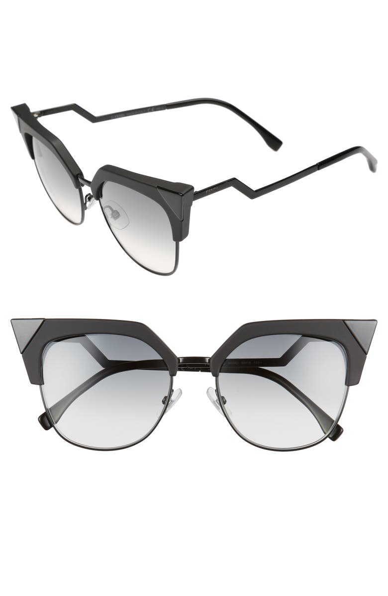 Sunglasses Fendi Metal 54mm Cat Nordstrom Tipped Eye qXr6BxXgFw