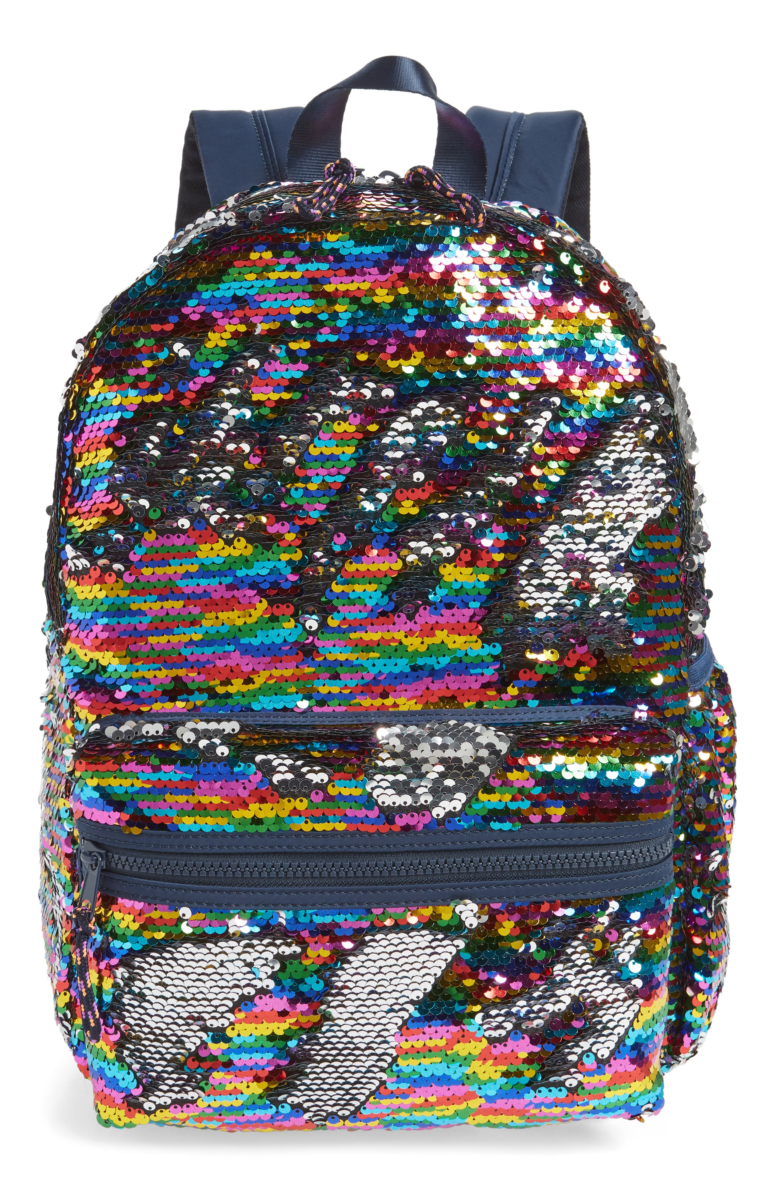 Sequin Backpack, Main, color, 965