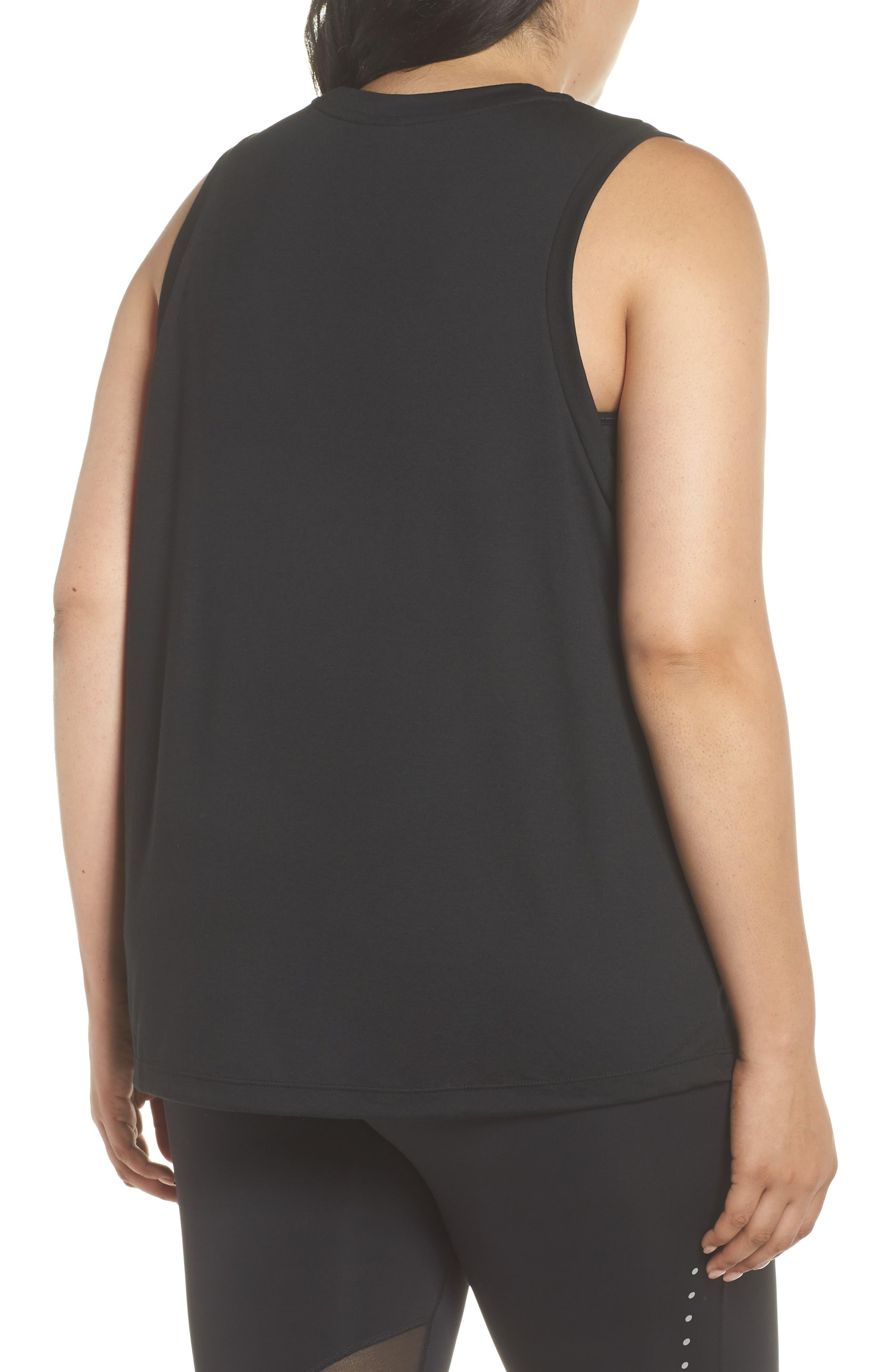 Sportswear Essential Muscle Tank,                             Alternate thumbnail 2, color,                             010