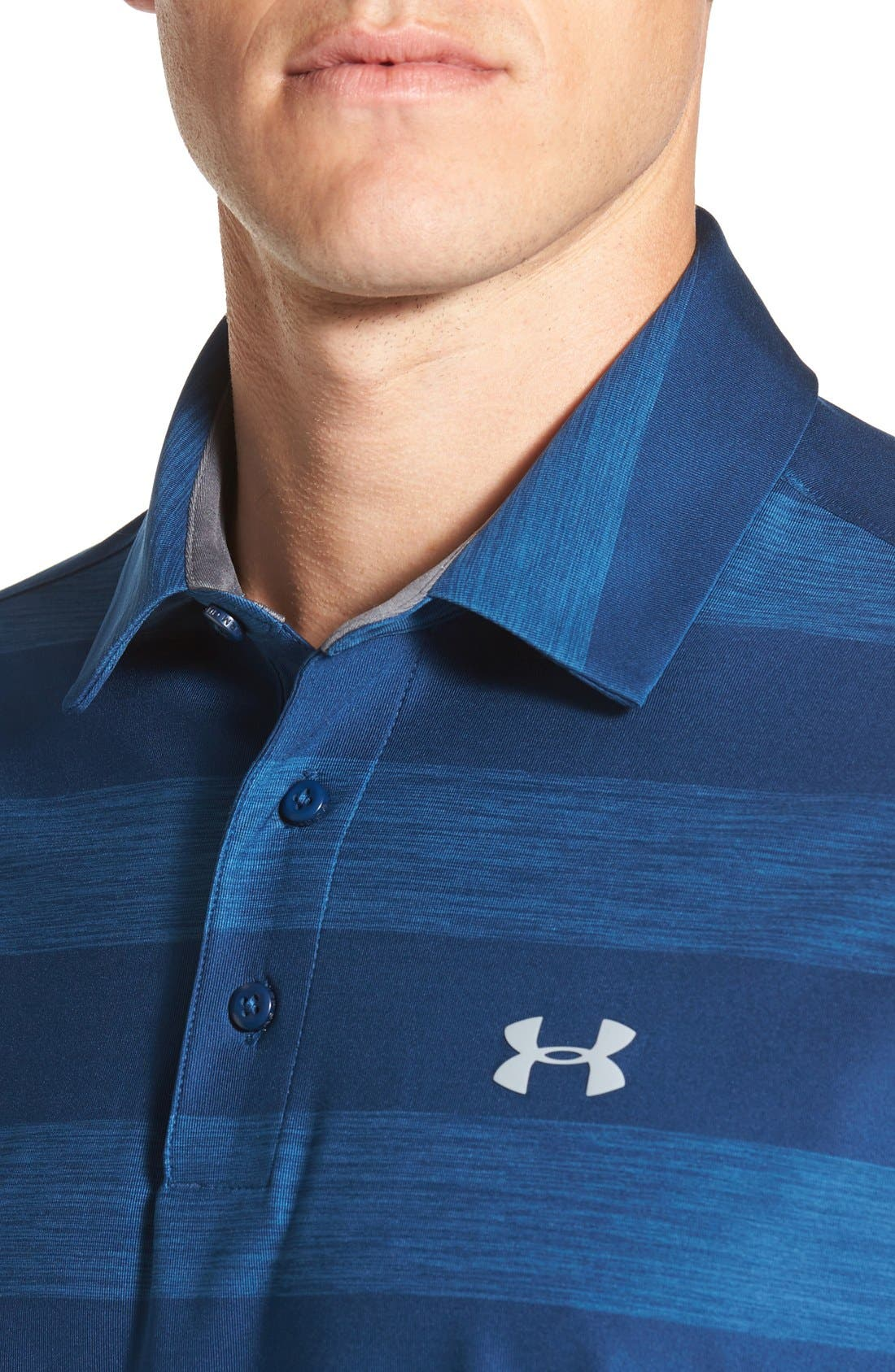 'Playoff' Loose Fit Short Sleeve Polo,                             Alternate thumbnail 162, color,