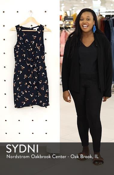 Tie-Front Mini Dress, sales video thumbnail