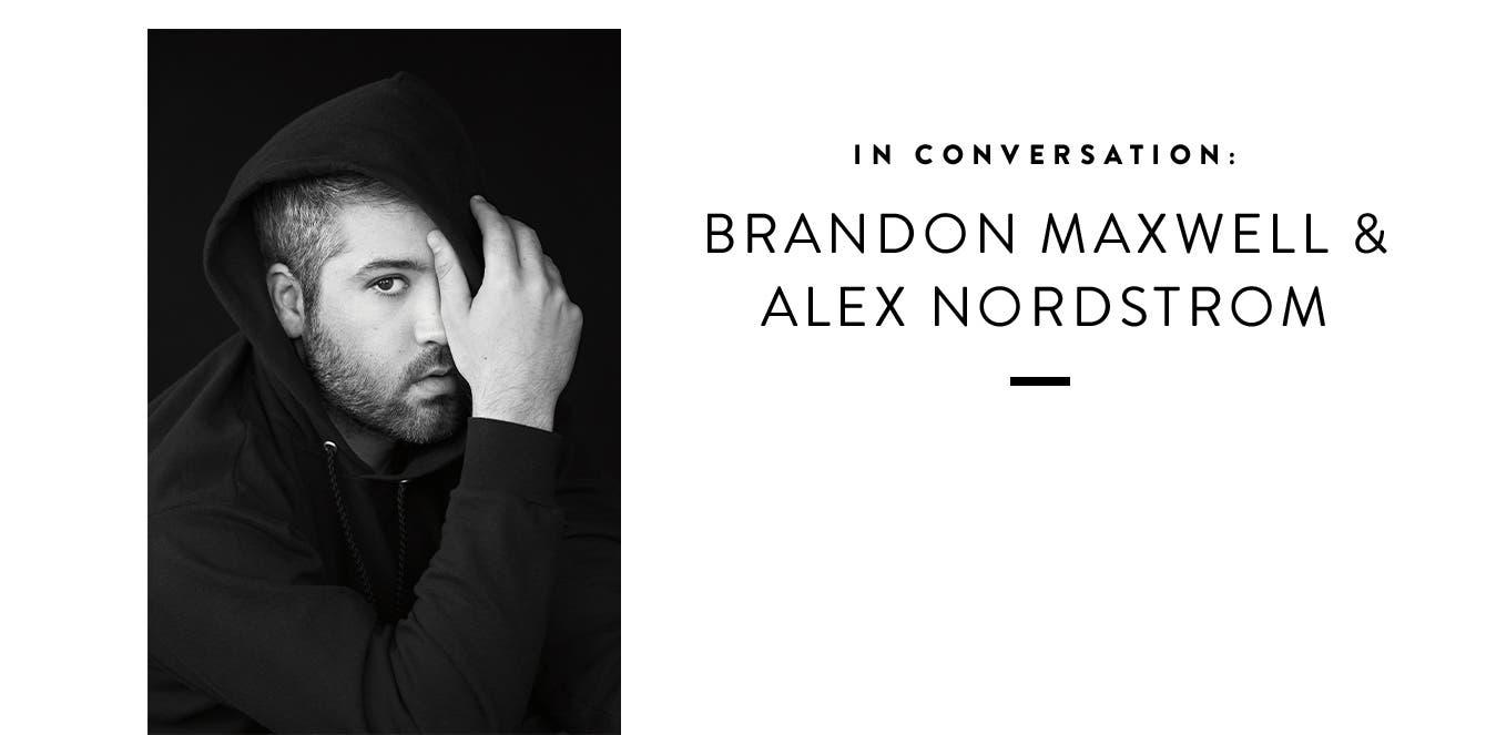 Designer Brandon Maxwell.