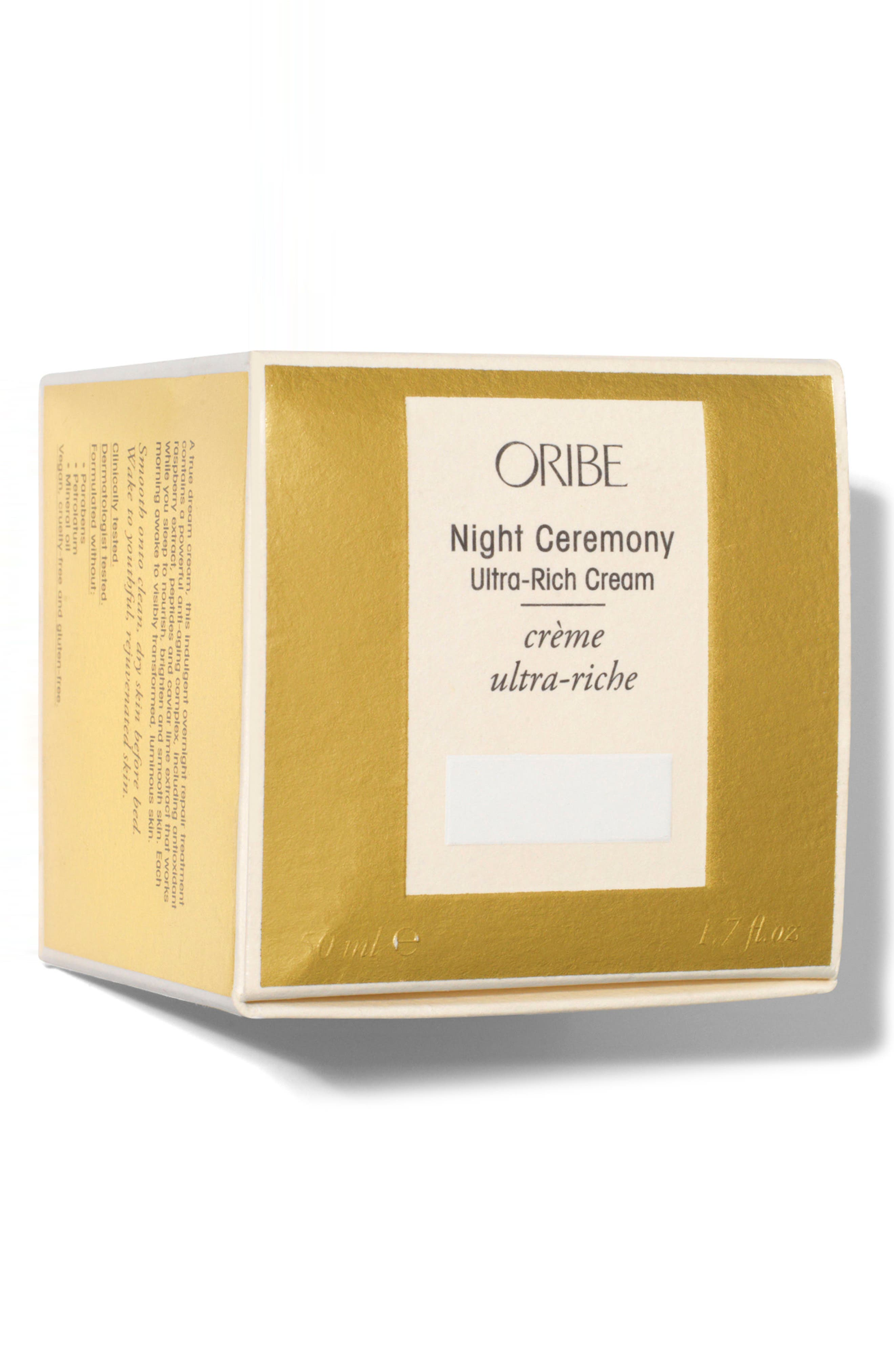 SPACE.NK.apothecary Oribe Night Ceremony Ultra Rich Cream,                             Alternate thumbnail 3, color,                             NO COLOR