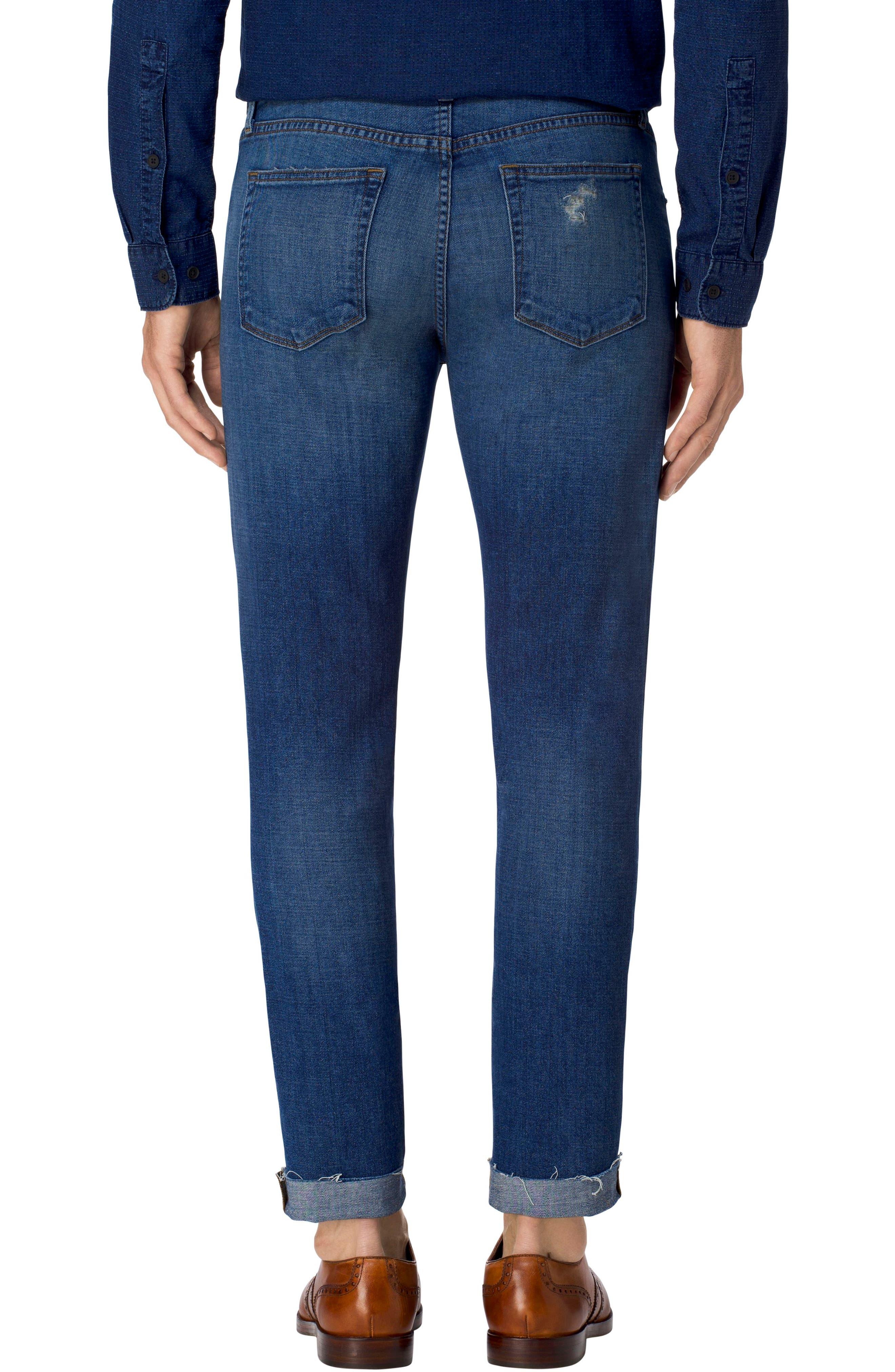 Tyler Slim Fit Jeans,                             Alternate thumbnail 2, color,                             485