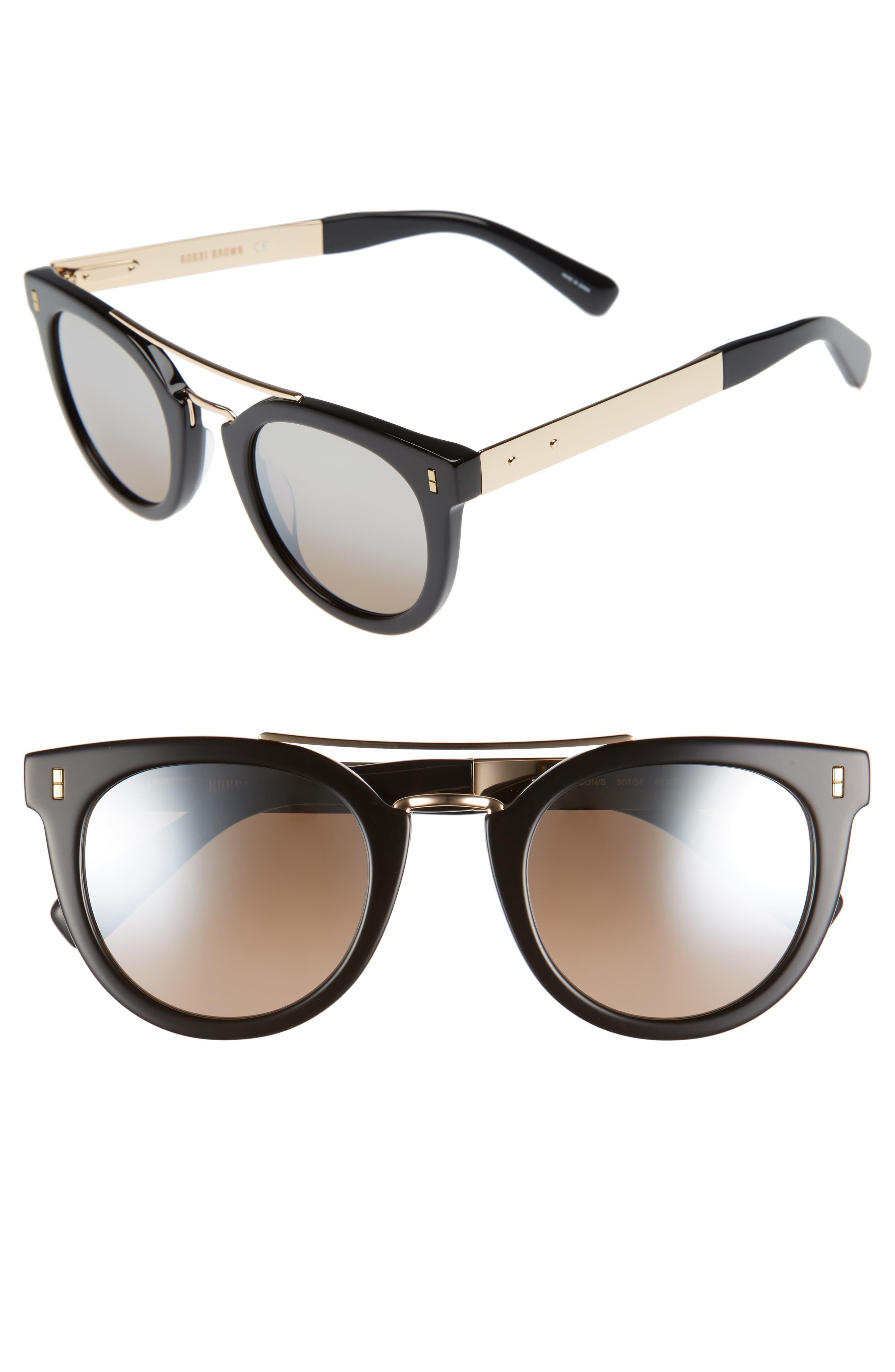 The Woodson 48mm Gradient Sunglasses,                         Main,                         color, 001